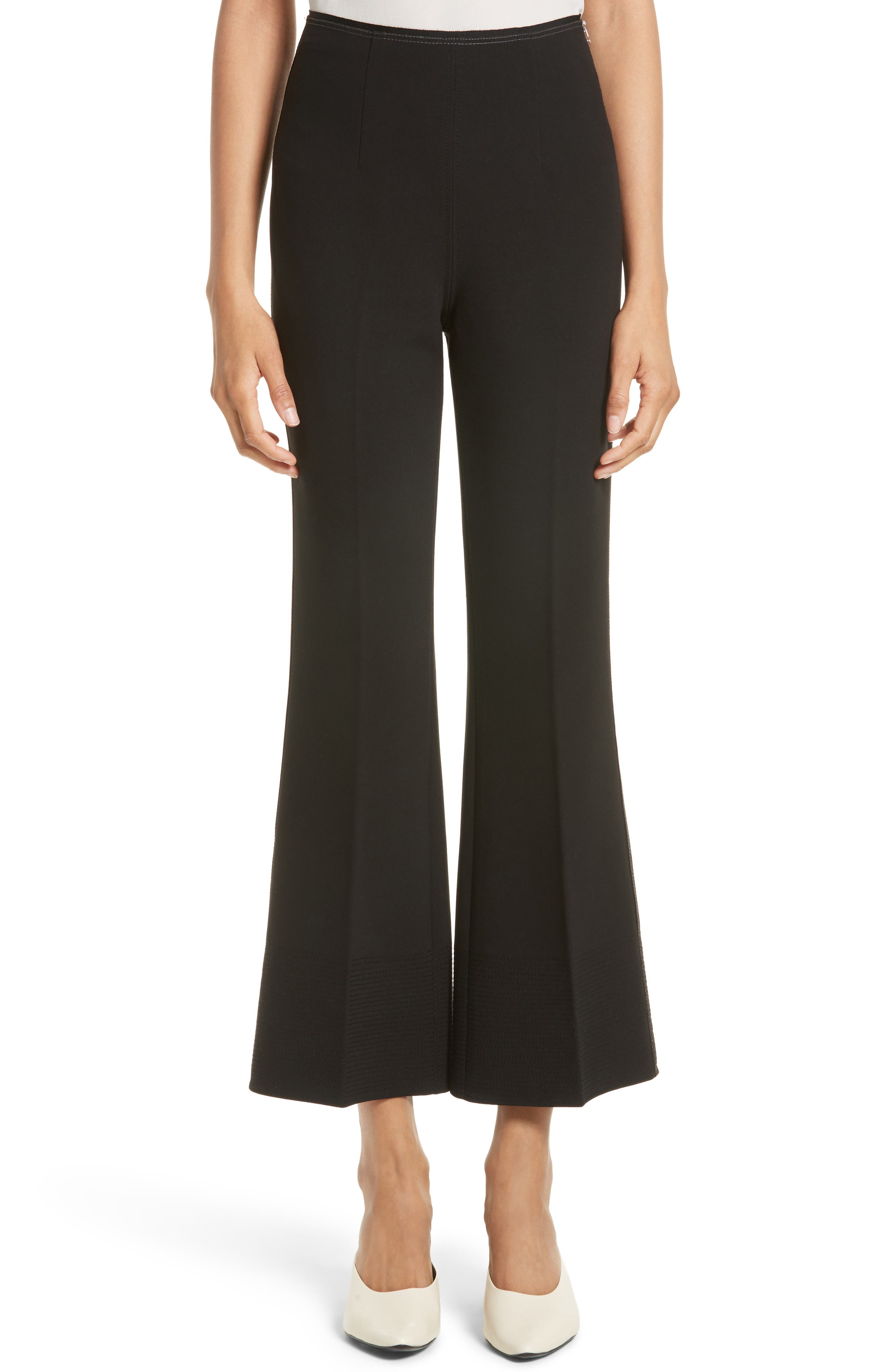 Elizabeth and James Mott Crop Flare Pants