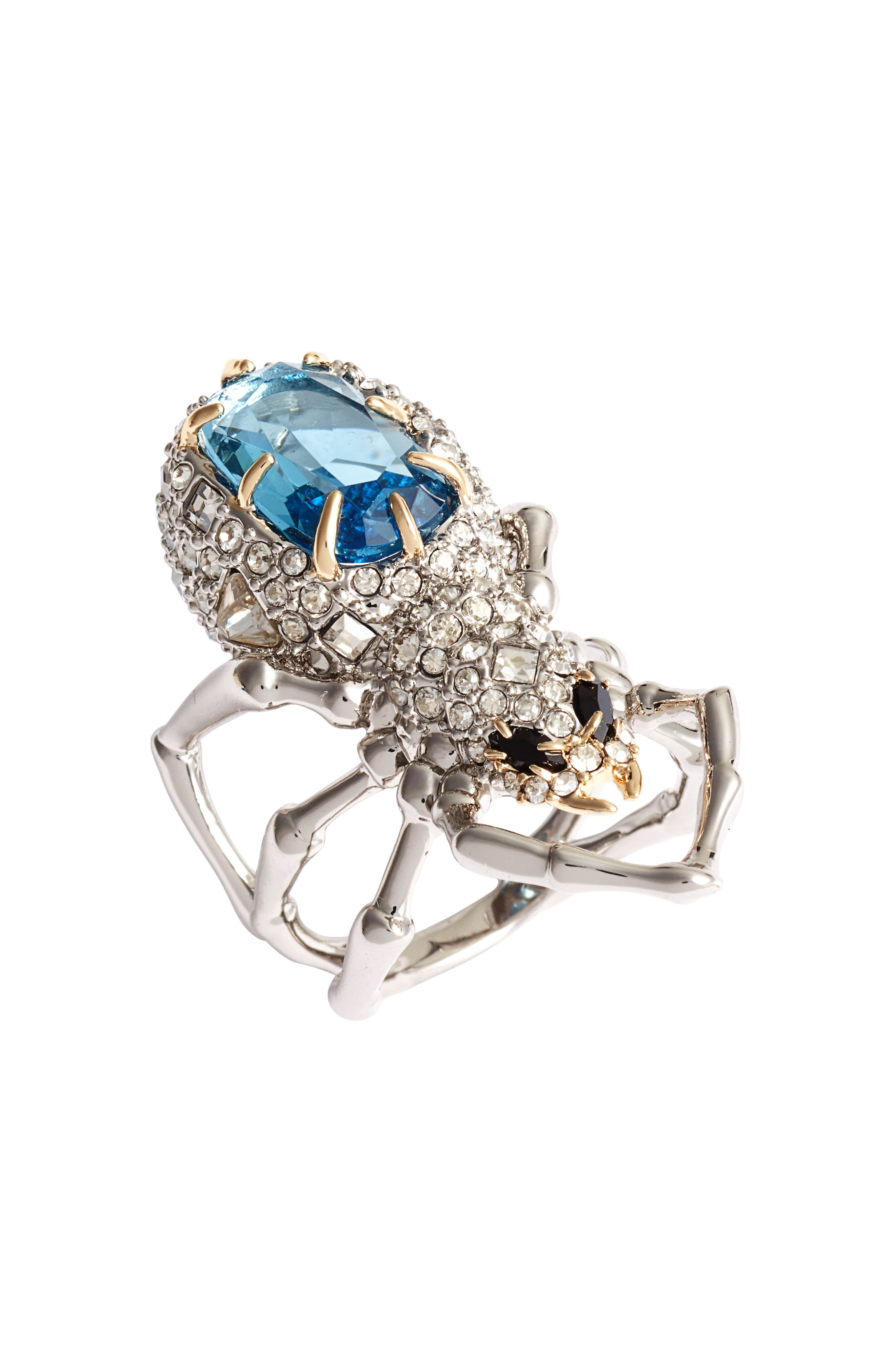 Alexis Bittar Encrusted Spider Ring