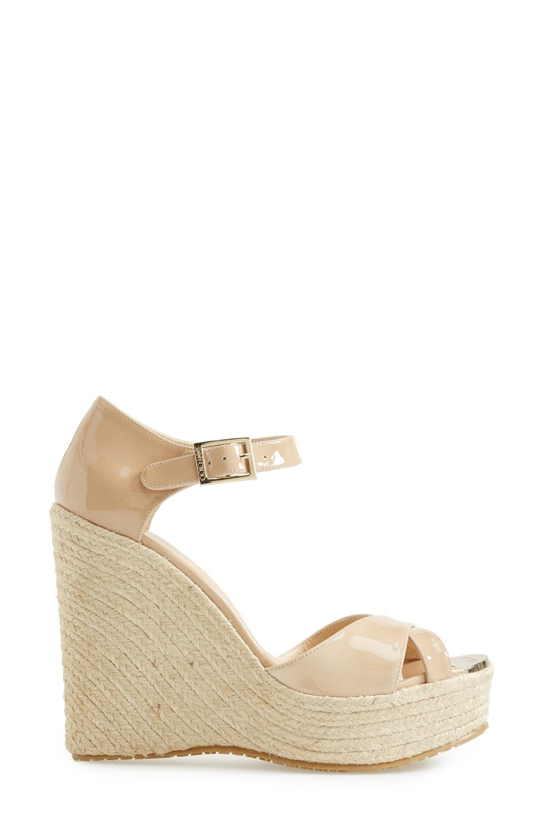 Alternate Image 4  - Jimmy Choo 'Pallis' Wedge Sandal (Nordstrom Exclusive)