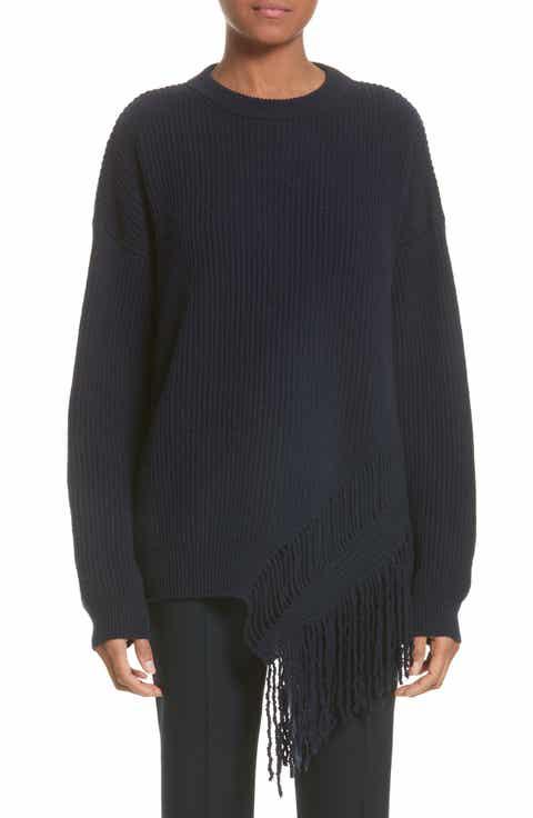 Stella McCartney Cashmere   Wool Fringe Sweater