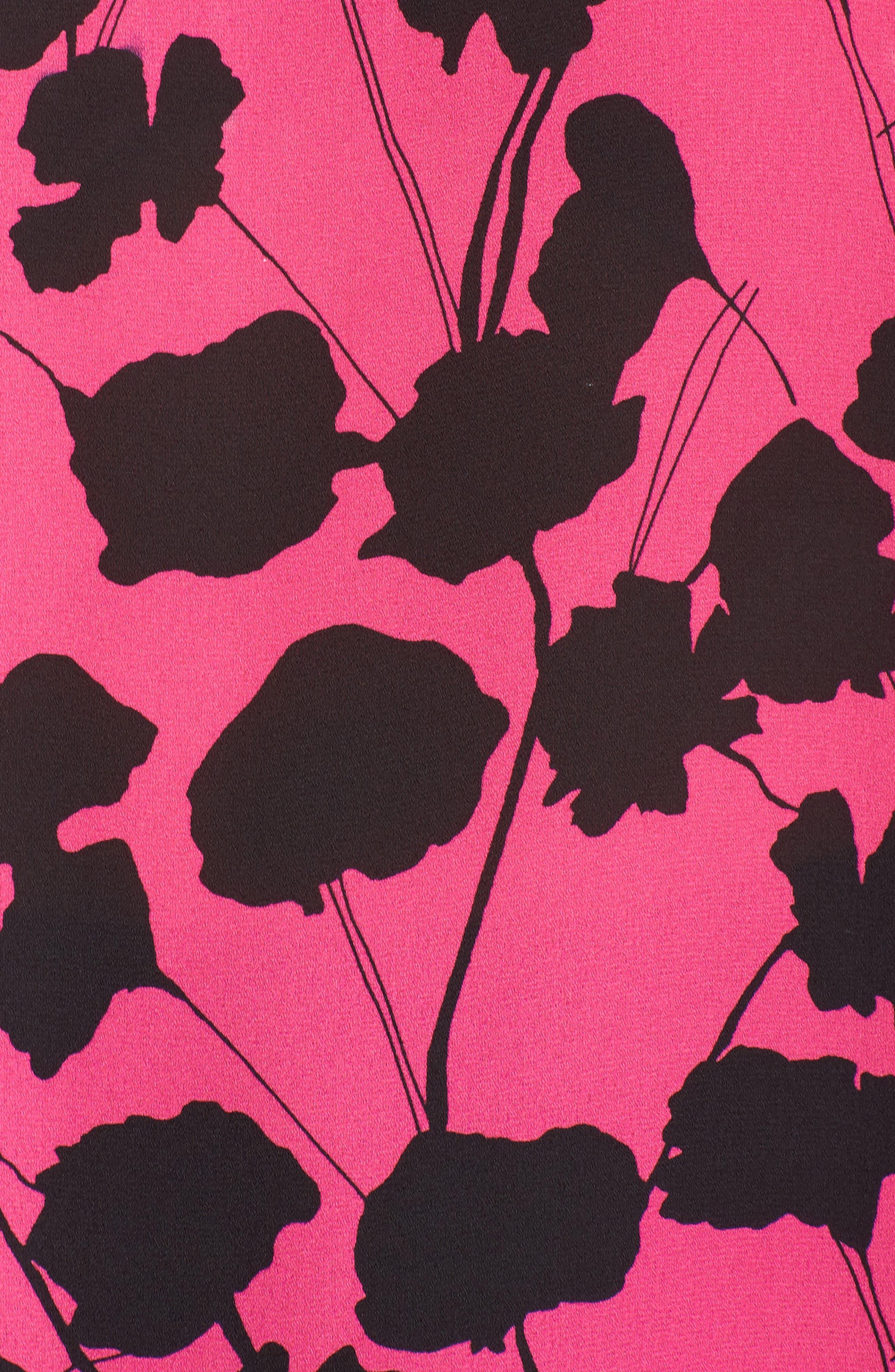 Alternate Image 5  - Vince Camuto Elegant Blossom Chiffon Tunic (Plus Size)