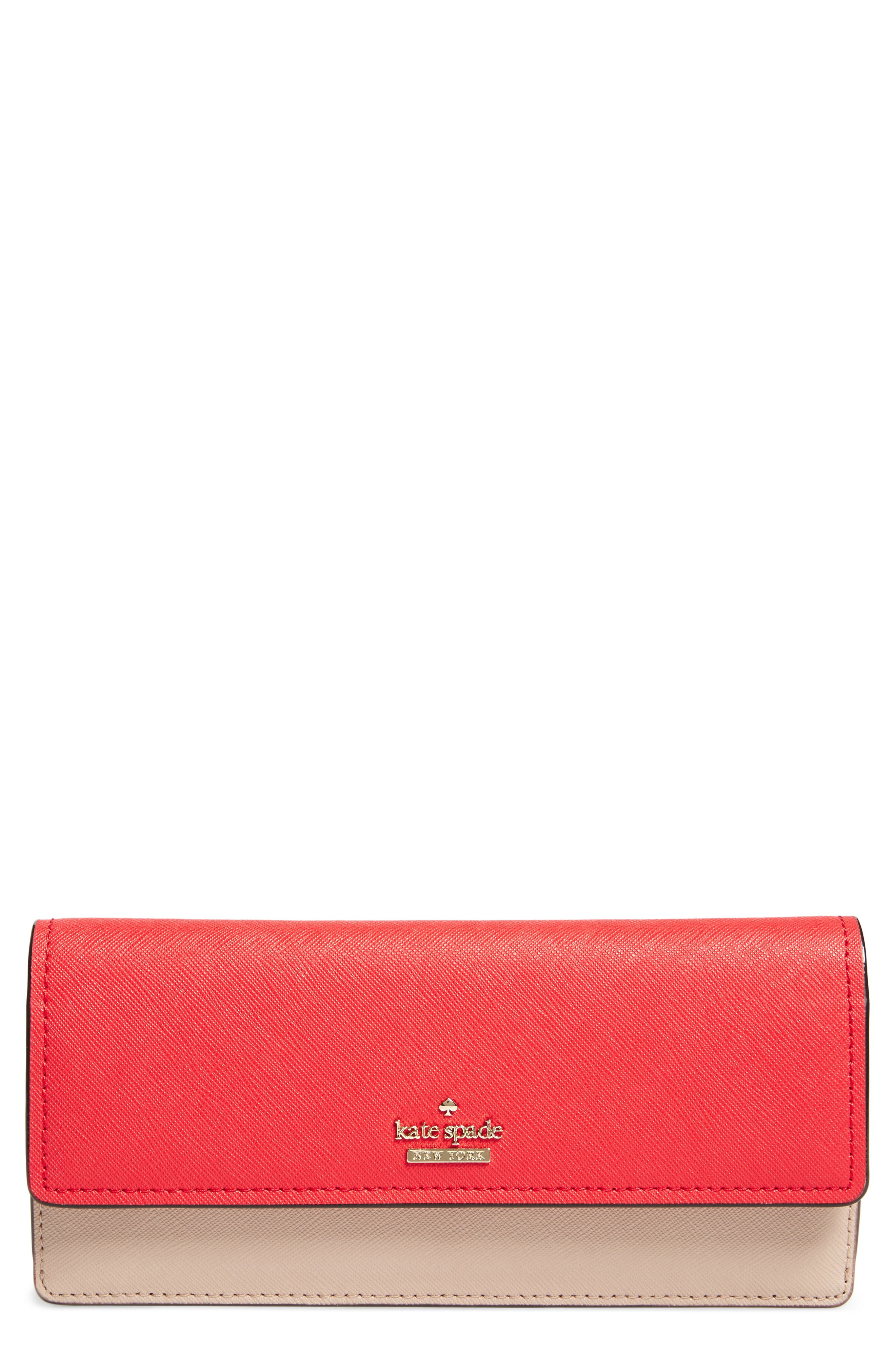 kate spade new york cameron street alli leather wallet
