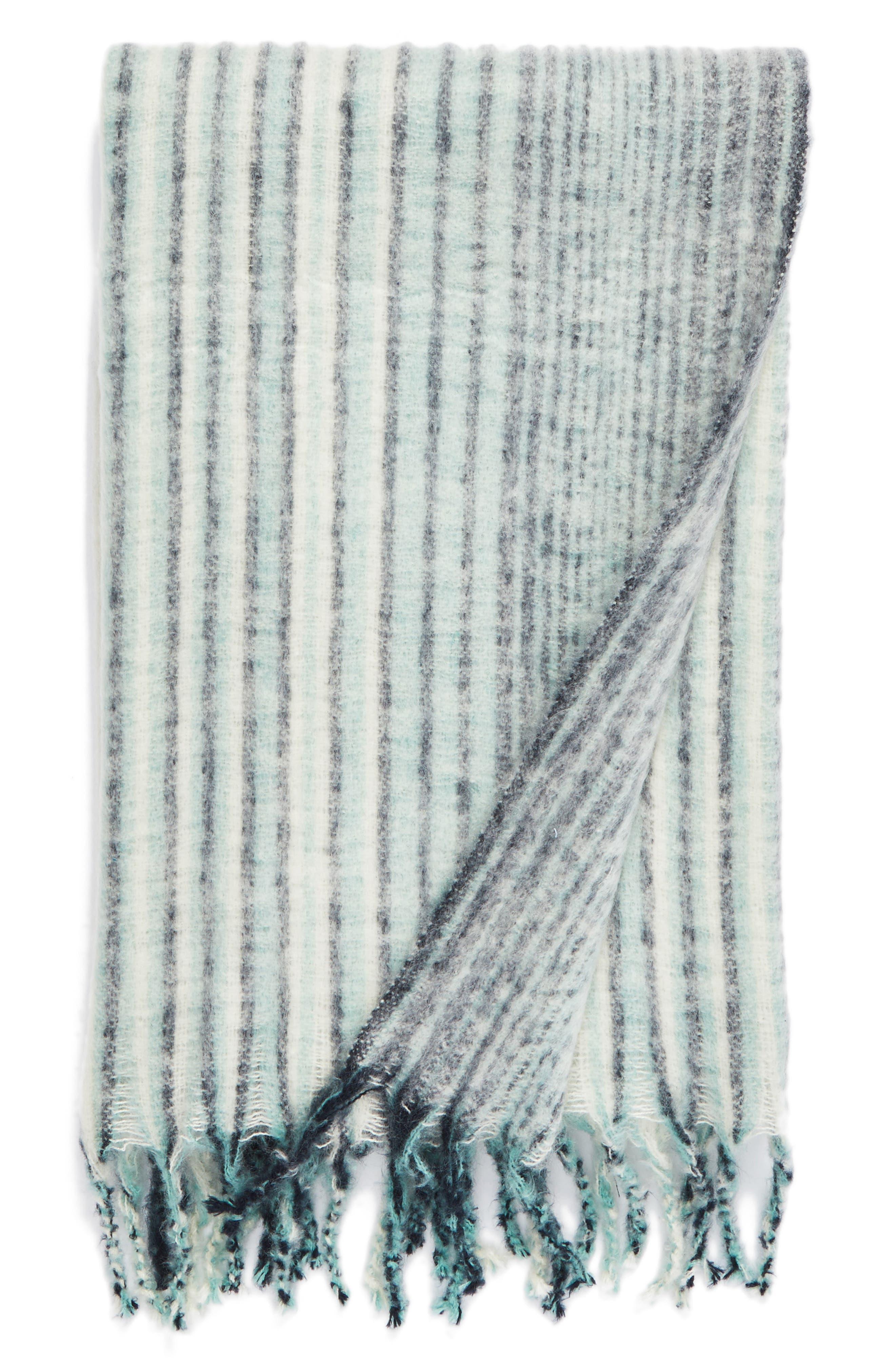 Nordstrom at Home Brushed Ombré Throw Blanket