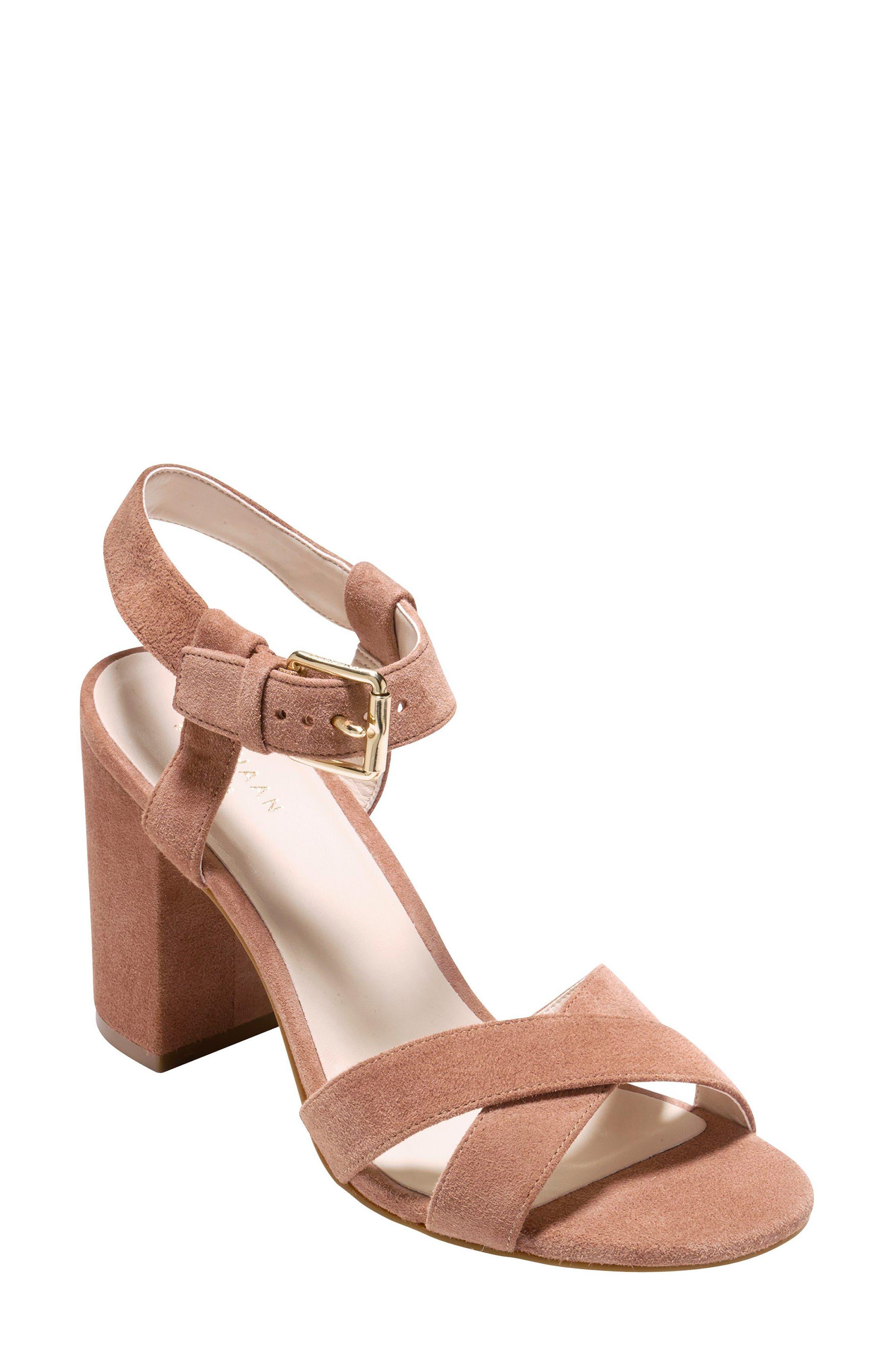 Alternate Image 1 Selected - Cole Haan Kadi Ankle Strap Sandal (Women)