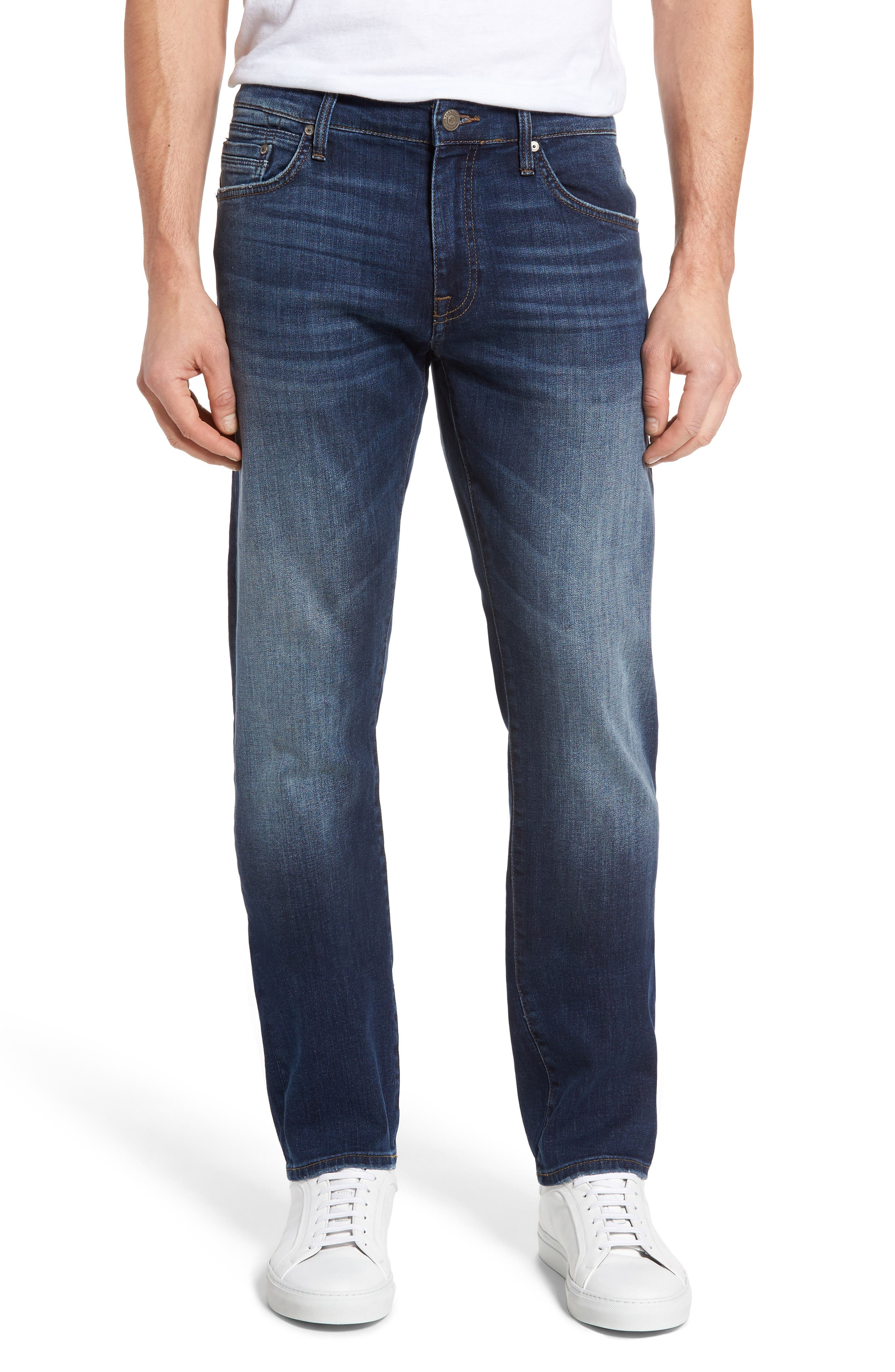Mavi Jeans Zach Straight Leg Jeans (Shaded Georgetown)