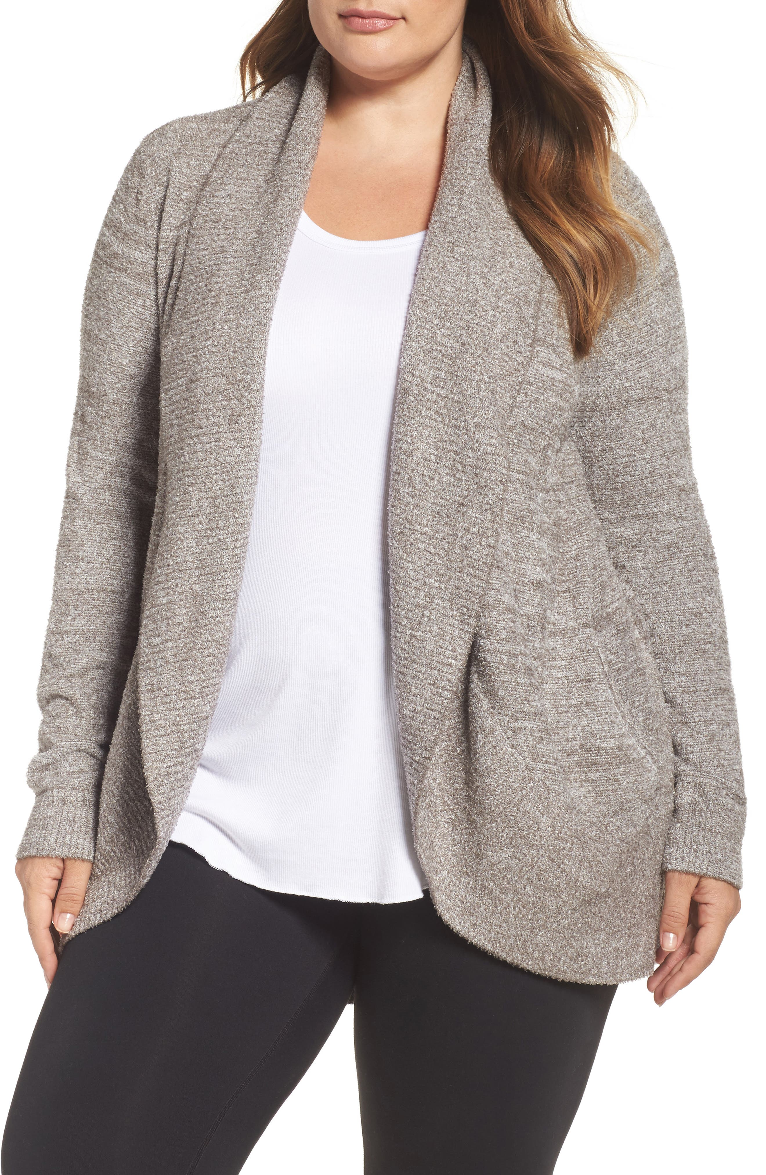 Barefoot Dreams® CozyChic Lite® Circle Cardigan (Plus Size)