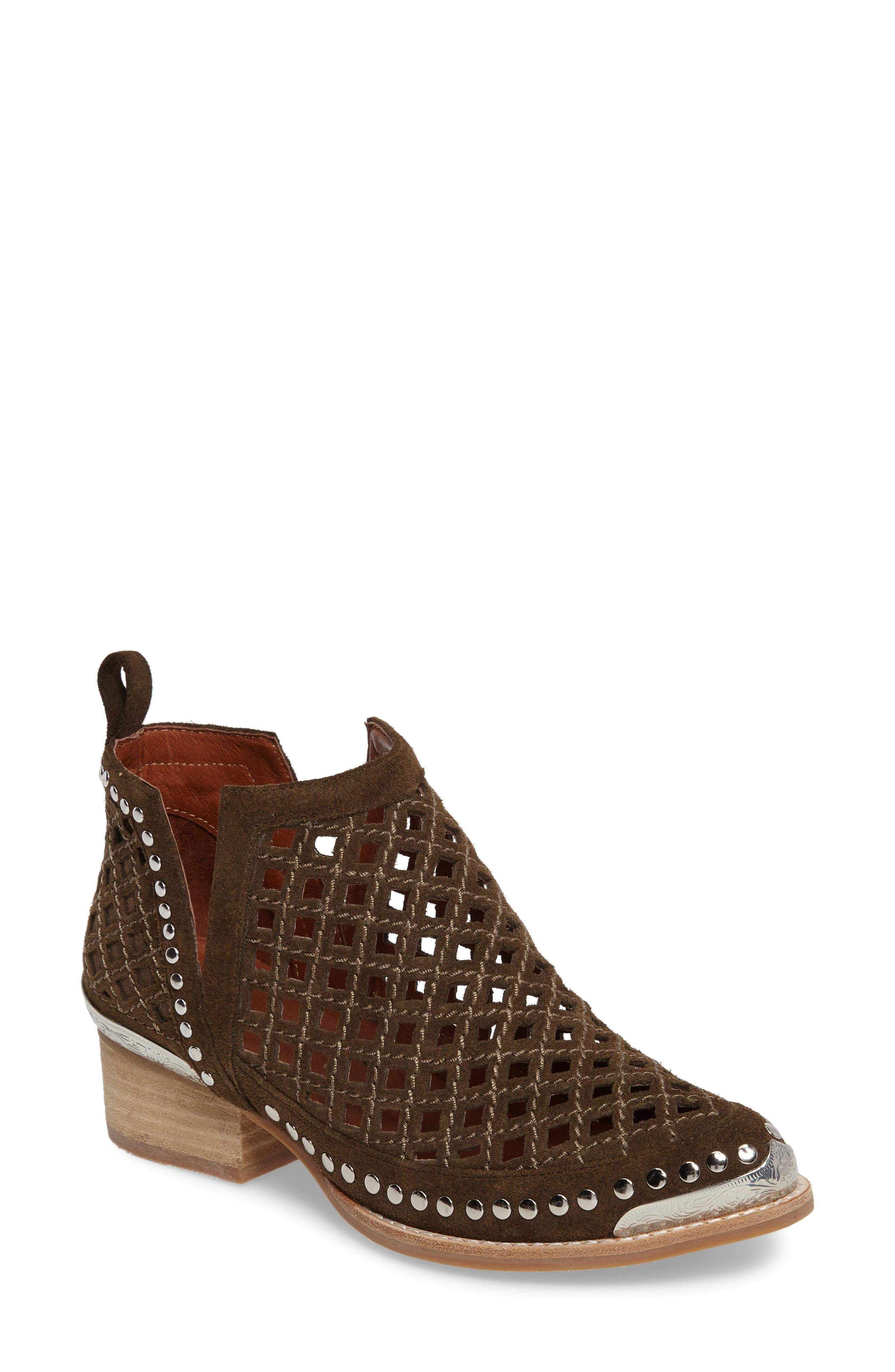 Jeffrey Campbell Tagalong Cutout Bootie (Women)