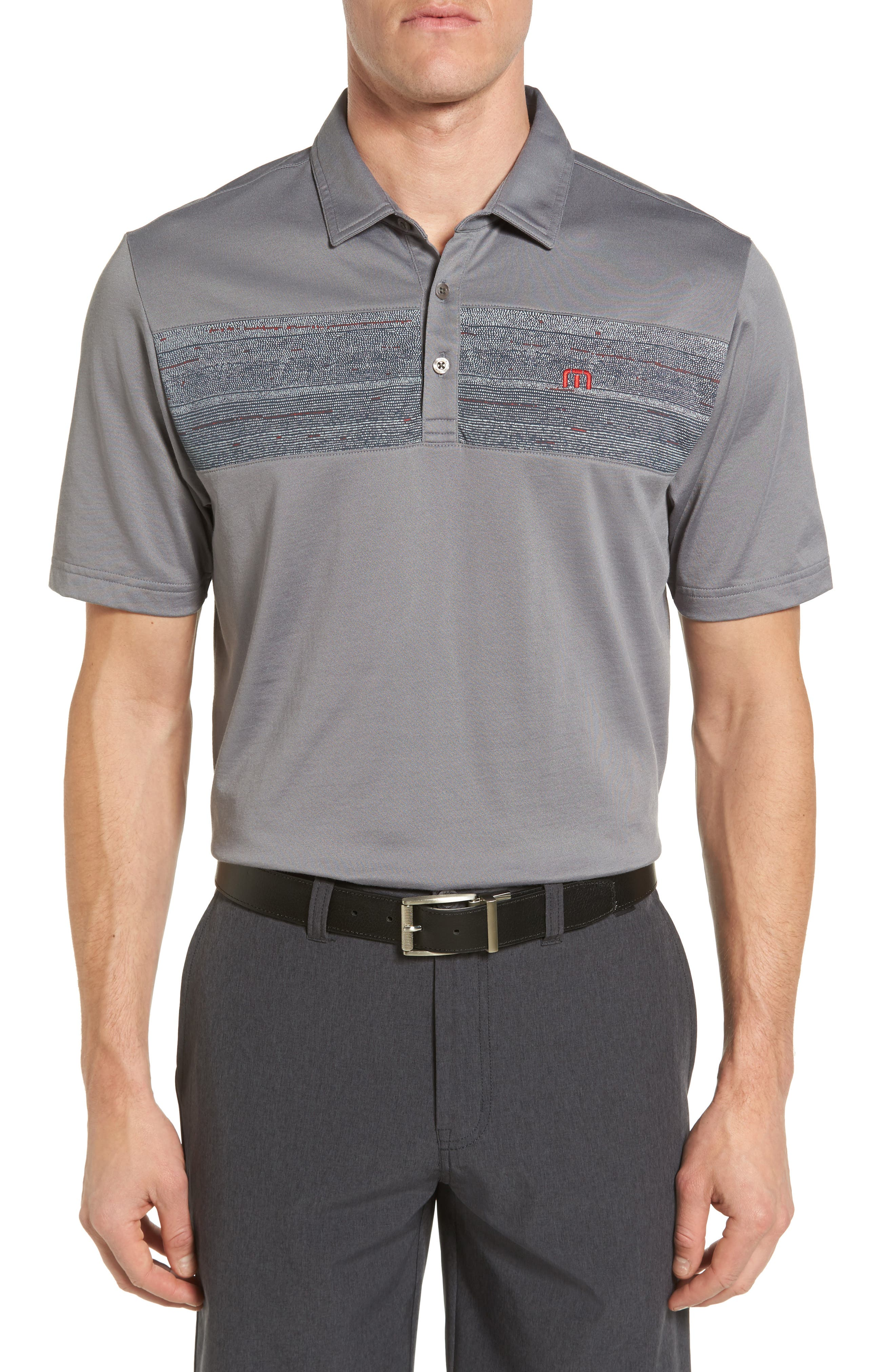Travis Mathew Wobig Trim Fit Polo