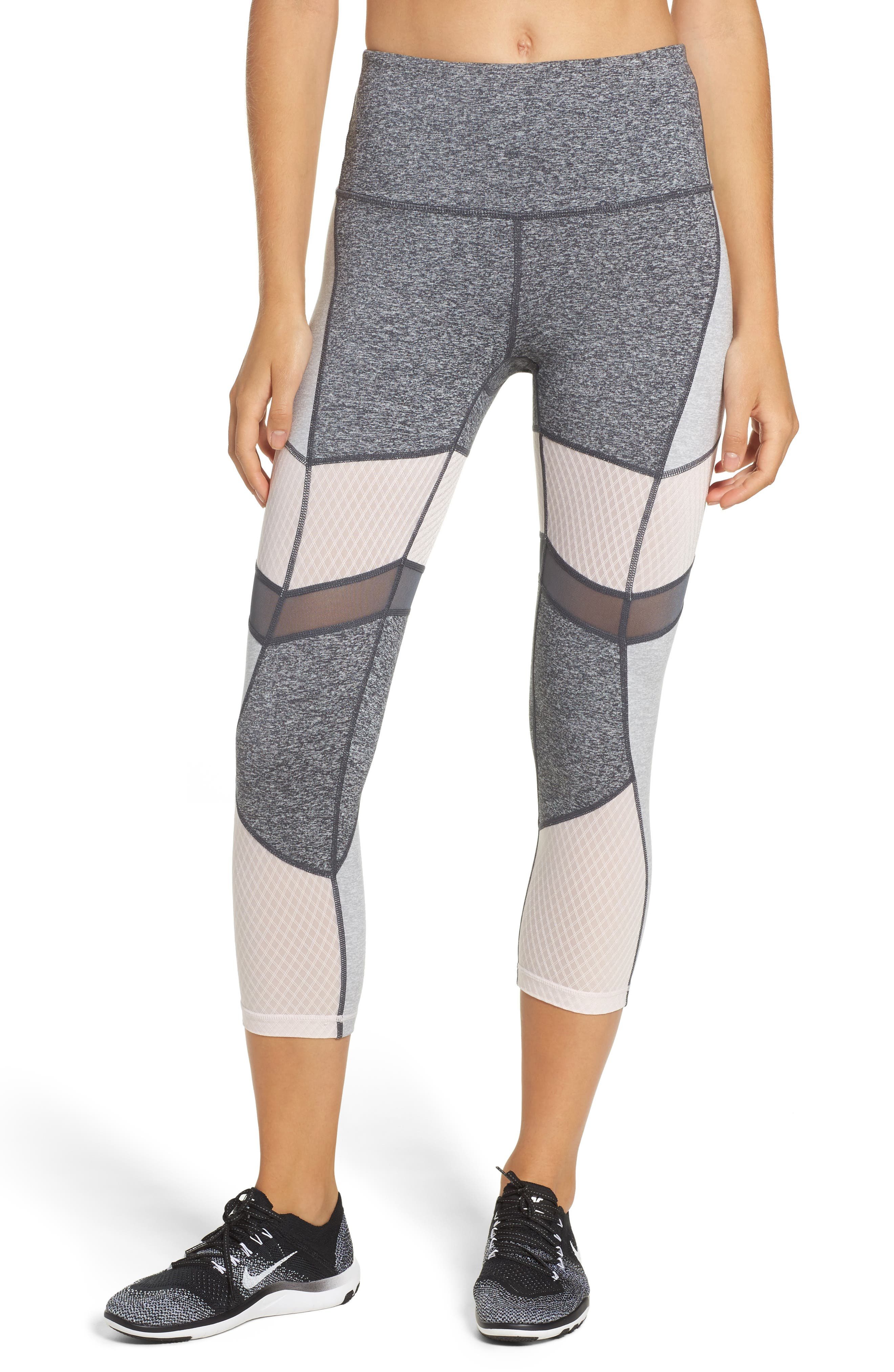 Zella Turning Point High Waist Crop Leggings