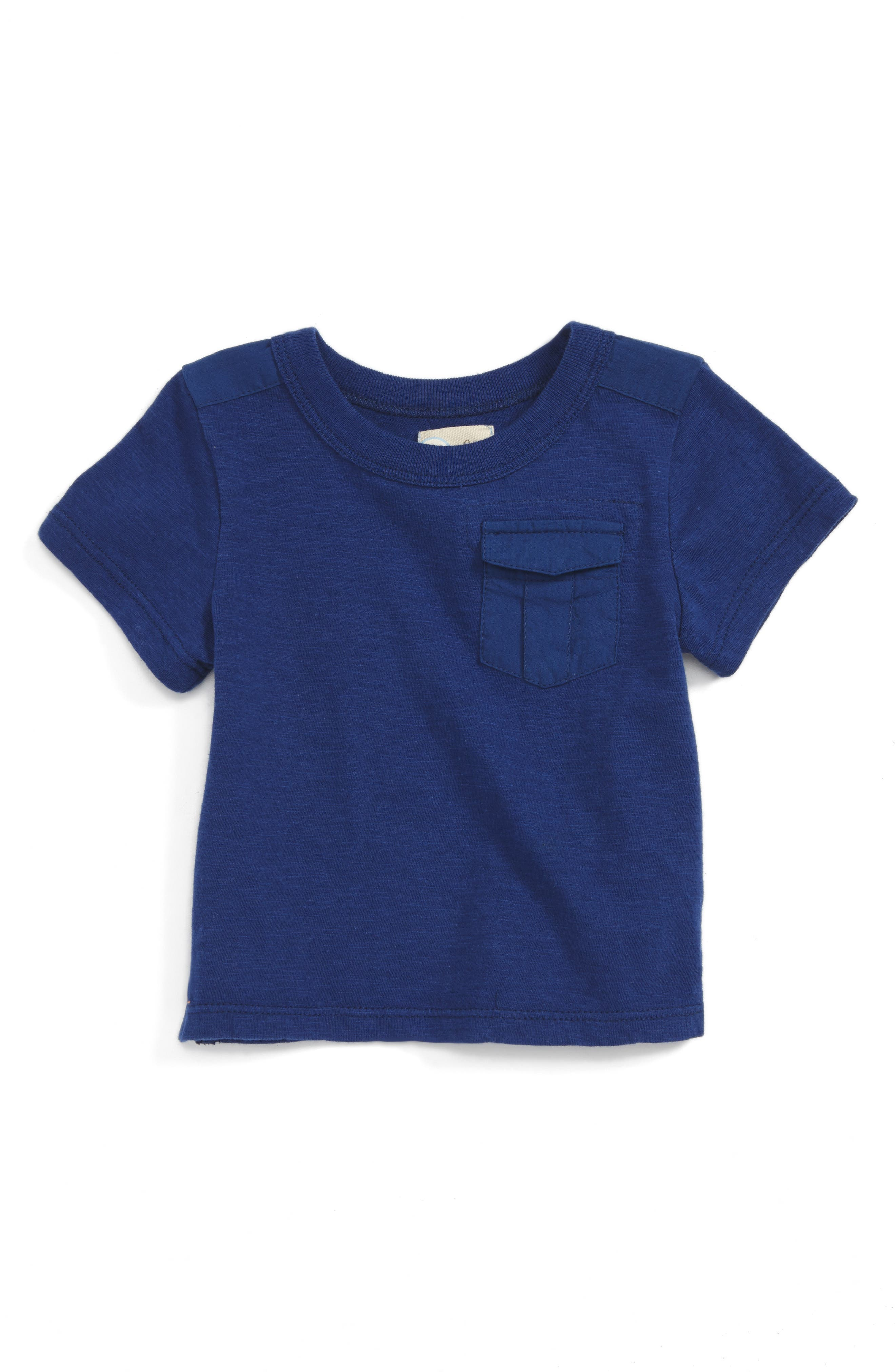 Peek Pocket T-Shirt (Baby Boys)