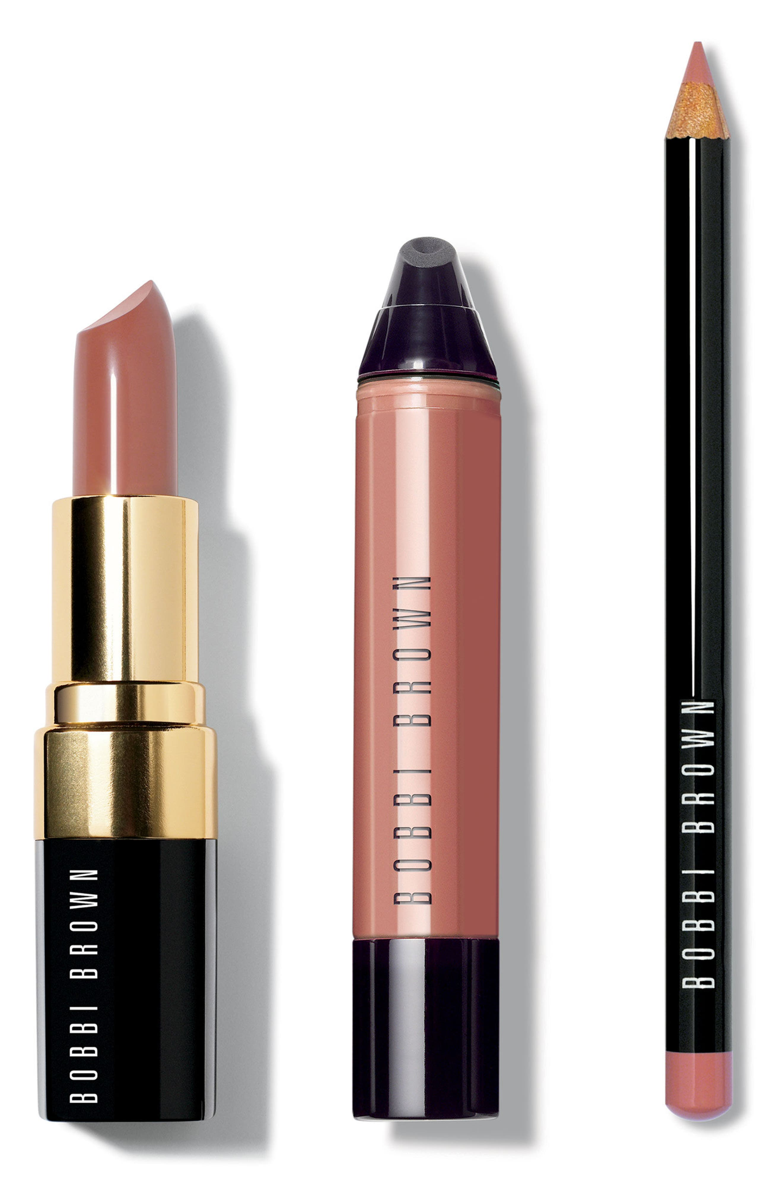 Bobbi Brown Nude Lip Trio (Nordstrom Exclusive) ($83 Value)