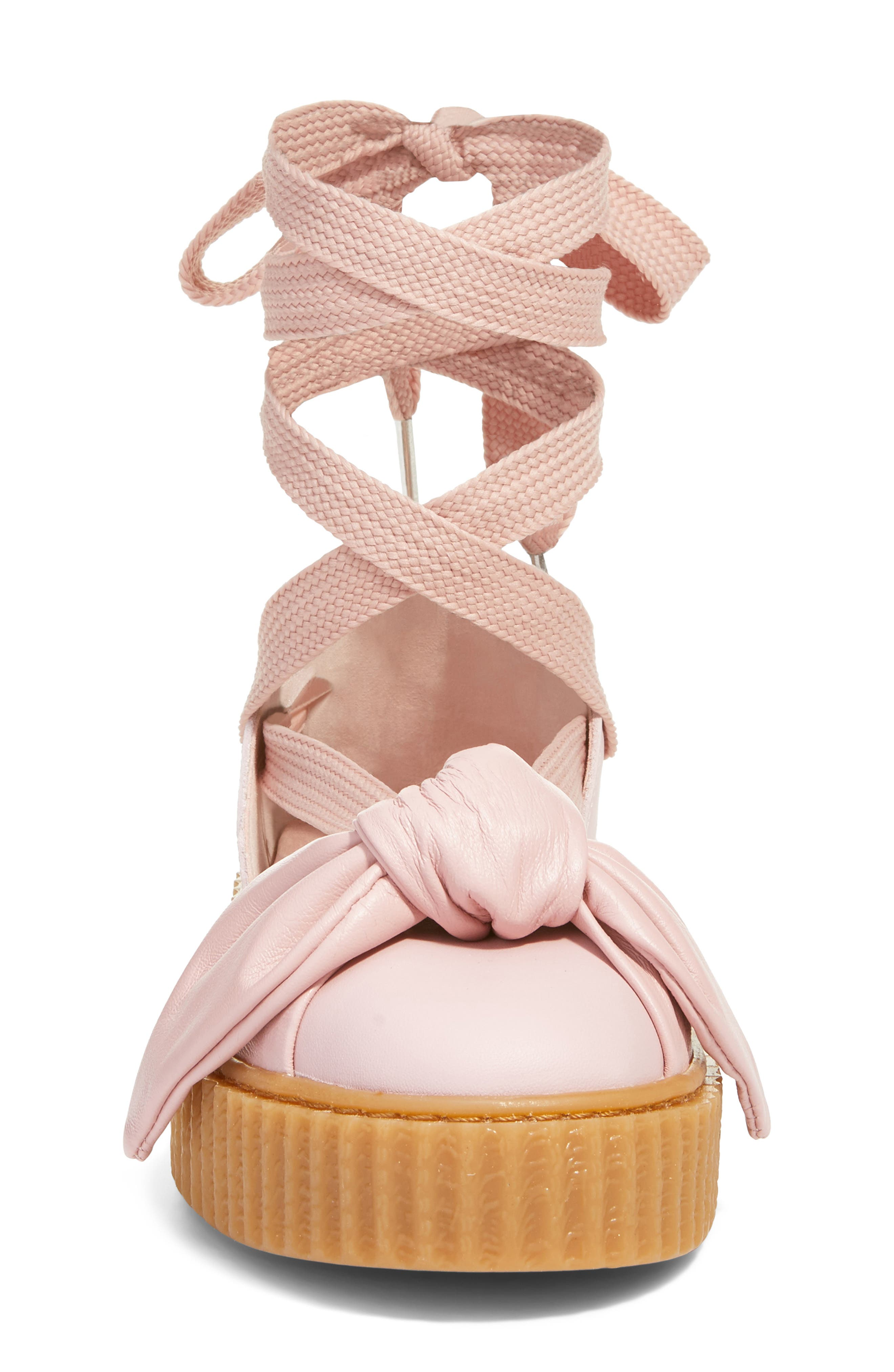 Alternate Image 4  - FENTY PUMA by Rihanna Bow Creeper Sandal (Women)