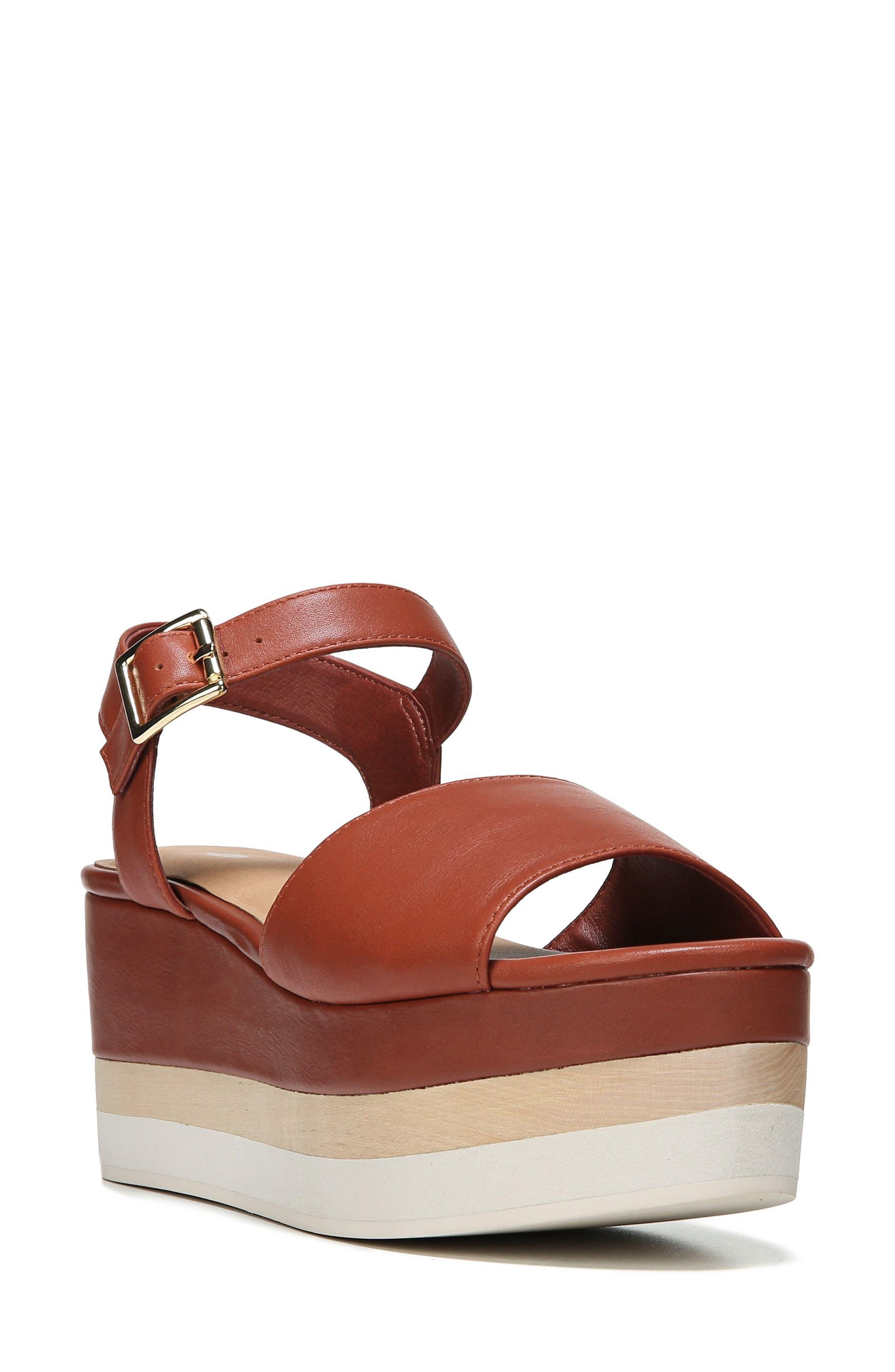 Dr. Scholl's Corinne Layered Platform Sandal (Women)