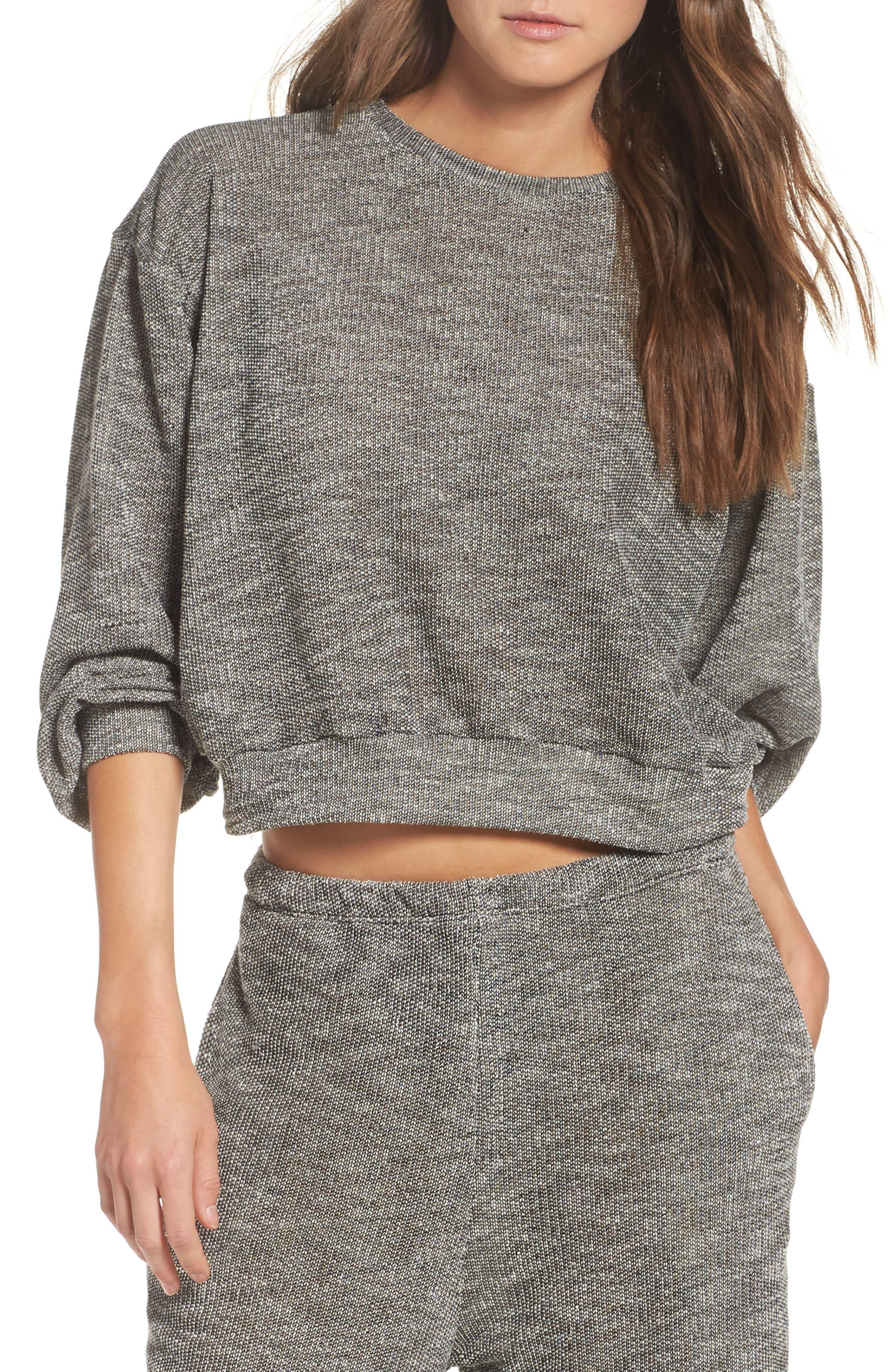 Daydream Nation Crop Lounge Sweater