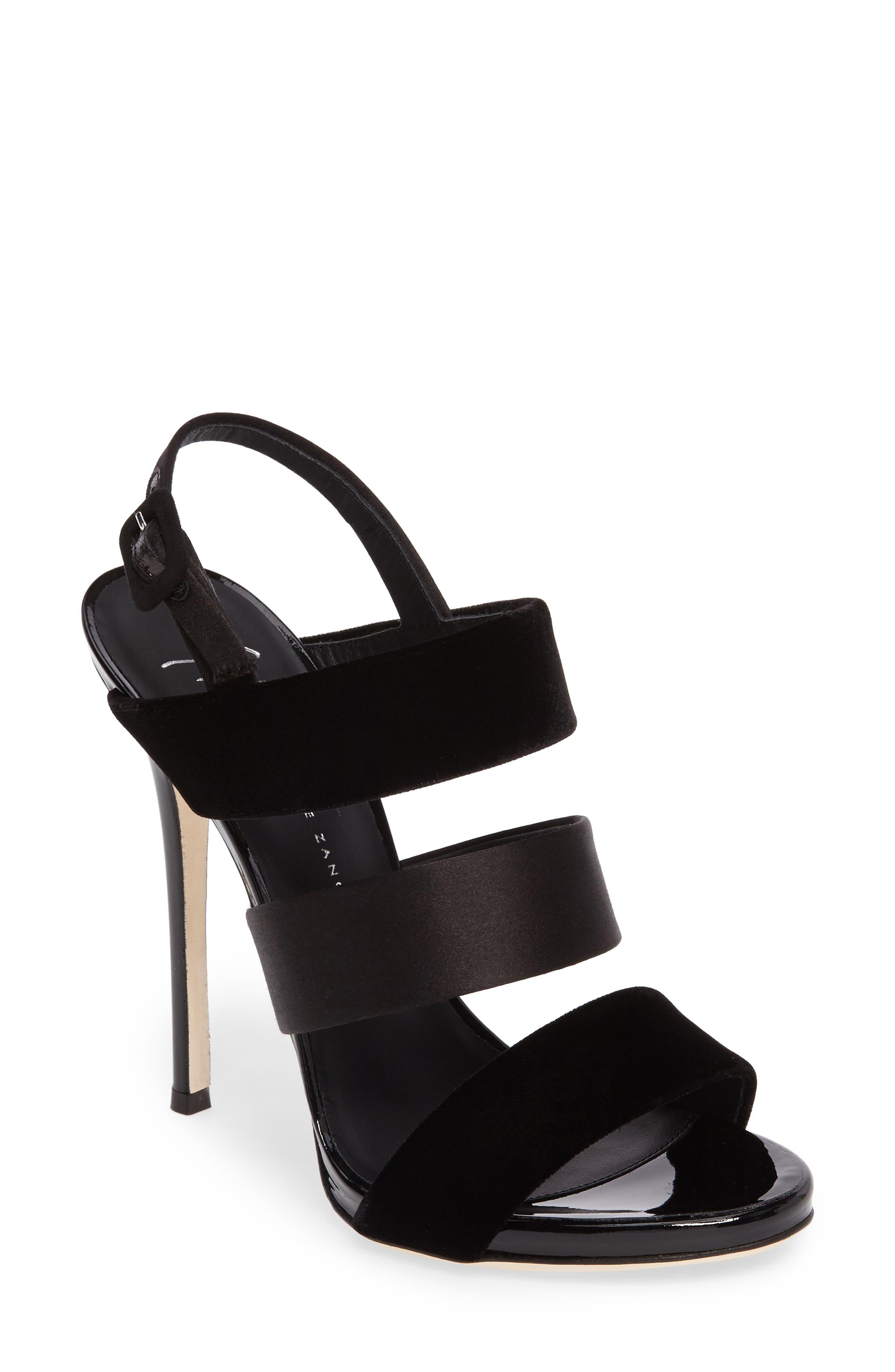 GIUSEPPE ZANOTTI Strappy Slingback Sandal