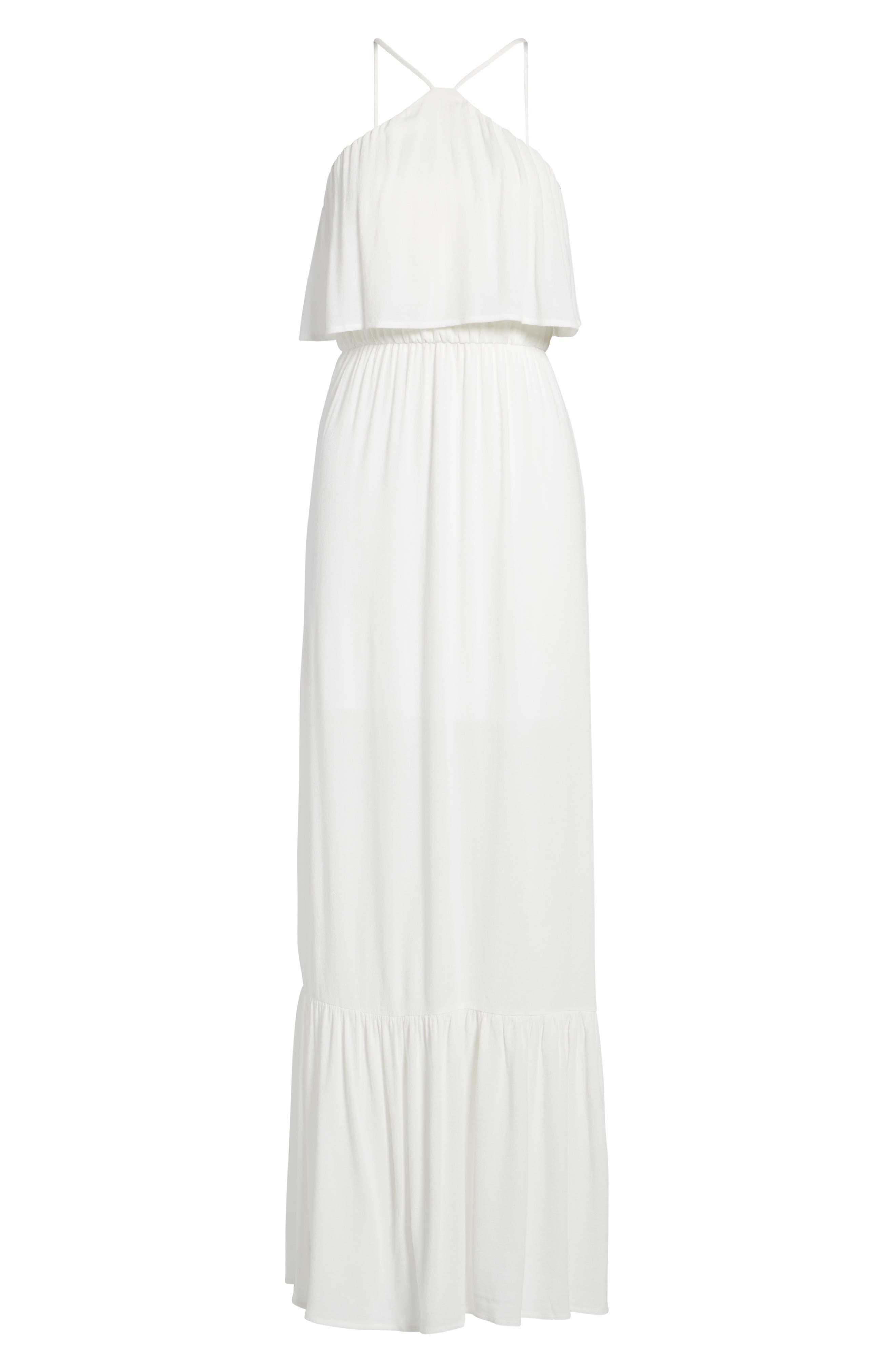 Alternate Image 5  - Dee Elly Popover Maxi Dress