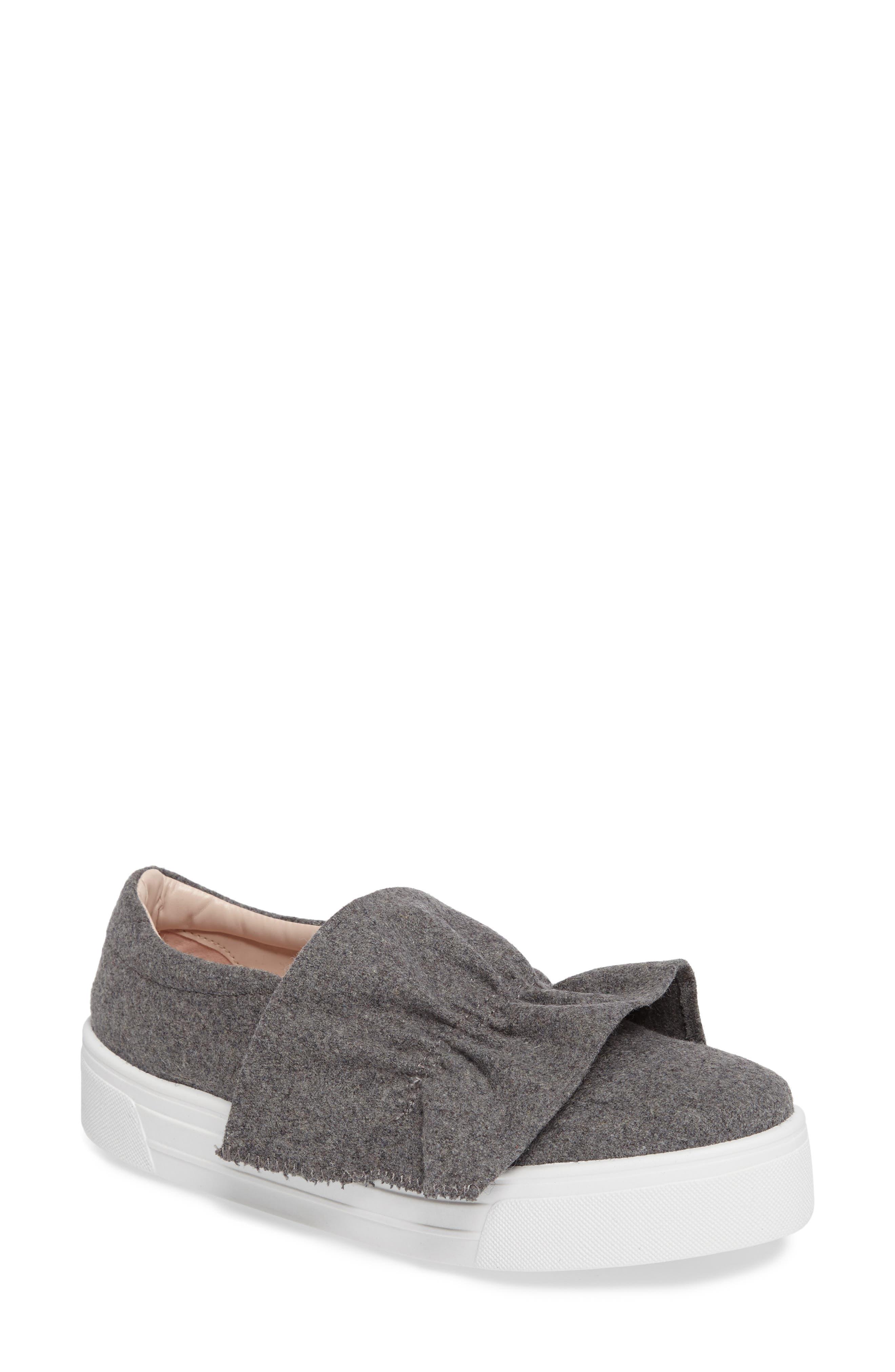 Topshop Tawny Ruffle Slip-On Sneaker (Women)