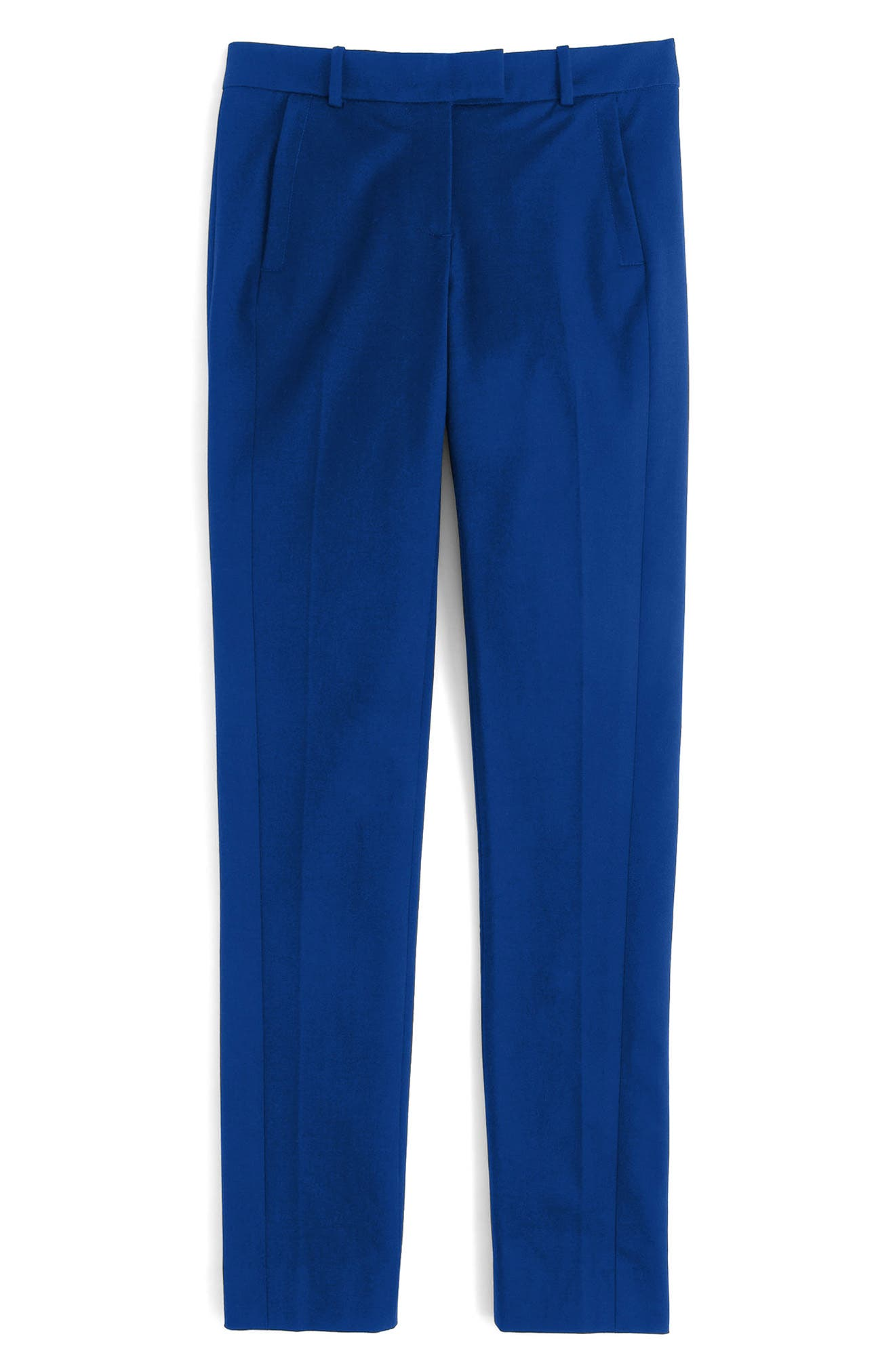 J.Crew Maddie Bi-Stretch Cotton Pants (Regular & Petite)