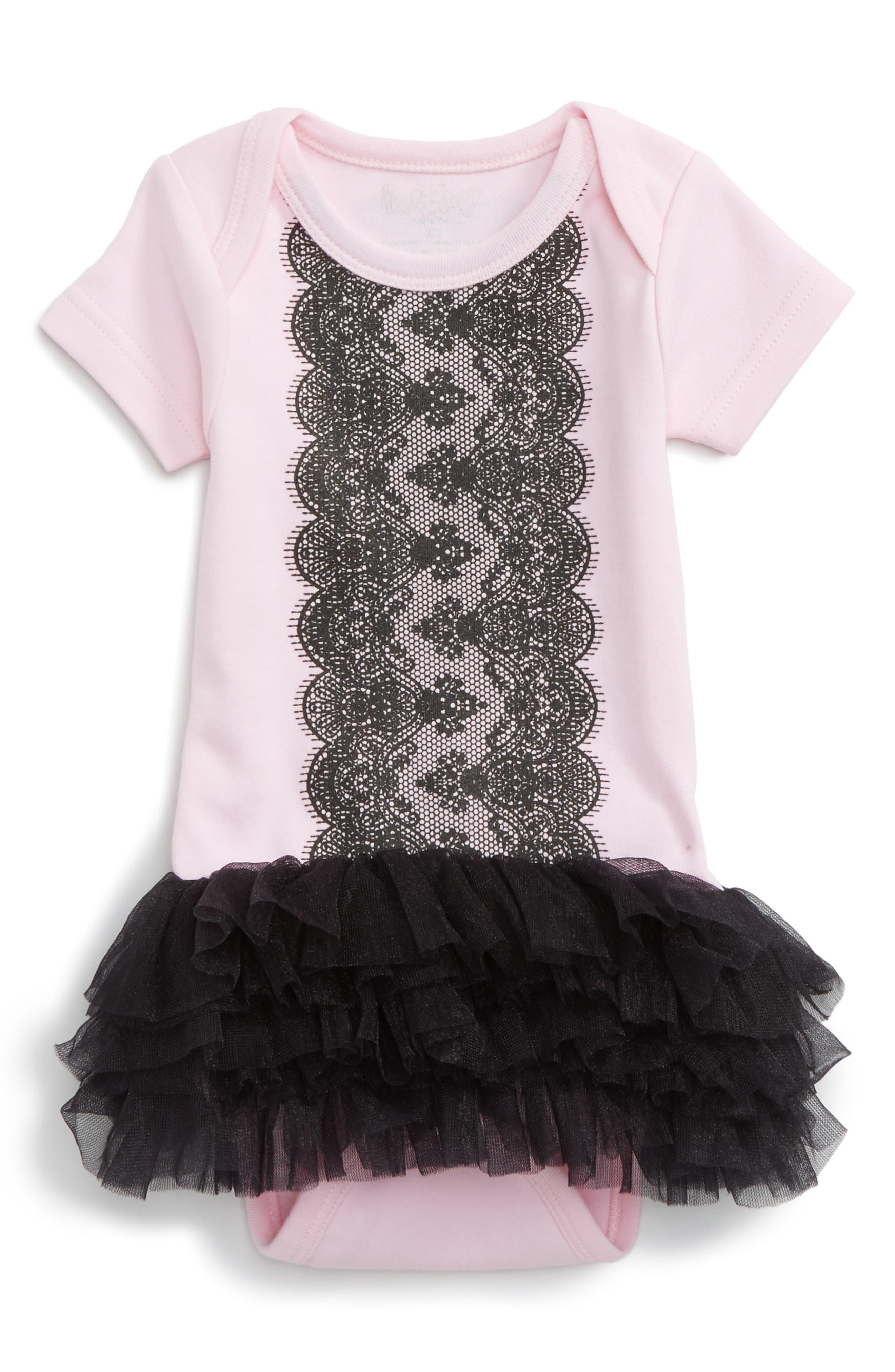 Sara Kety Baby & Kids Lace Tutu Bodysuit (Baby Girls)
