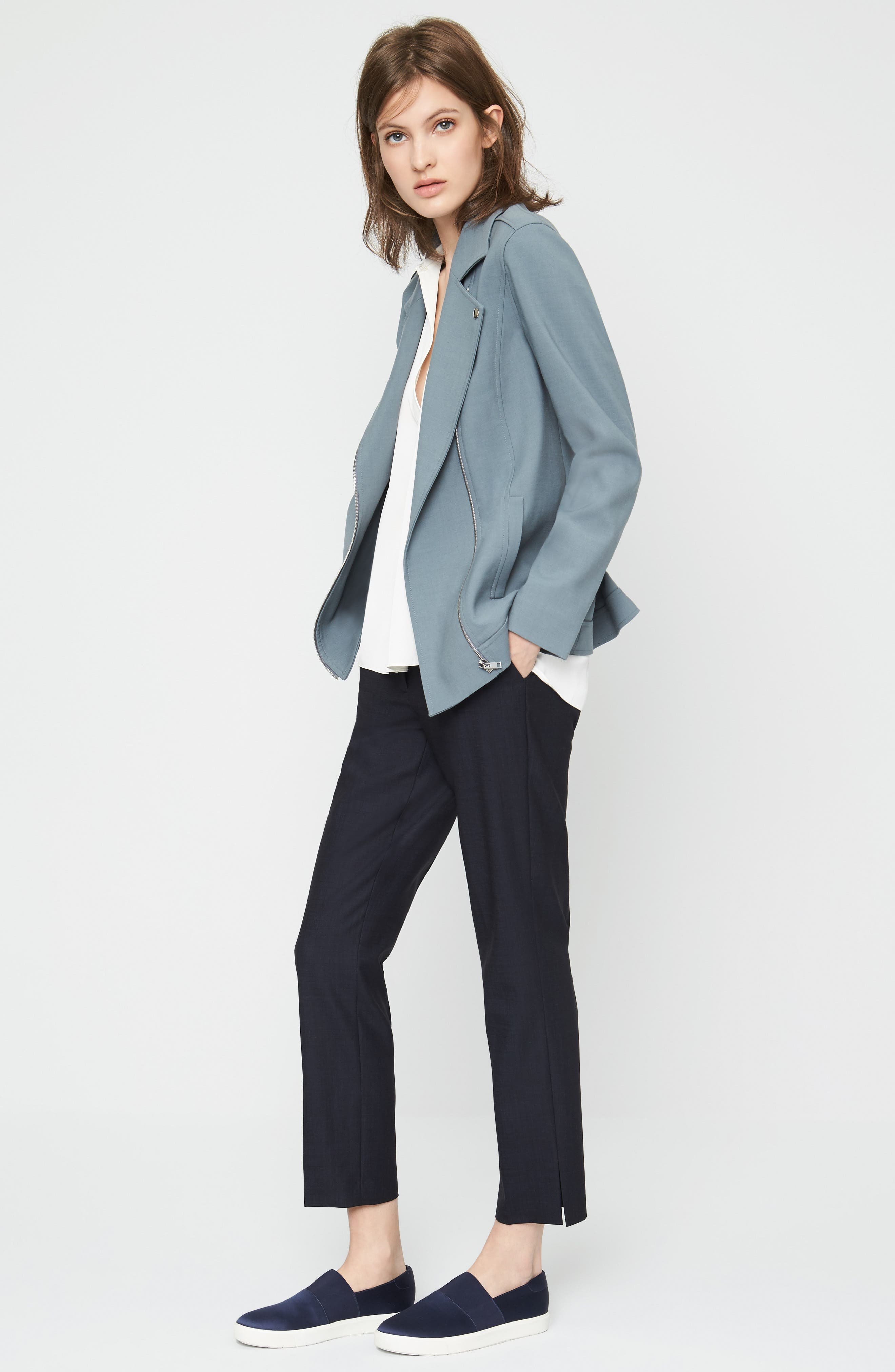 Classiques Entier® Jacket, Shell & Pants Outfit with Accessories