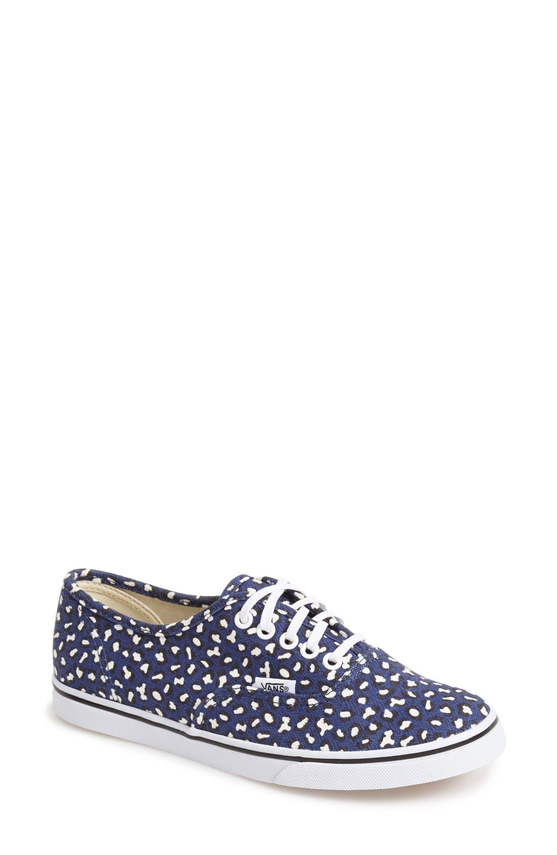 Alternate Image 1 Selected - Vans 'Herringbone Leopard - Lo Pro' Sneaker (Women)