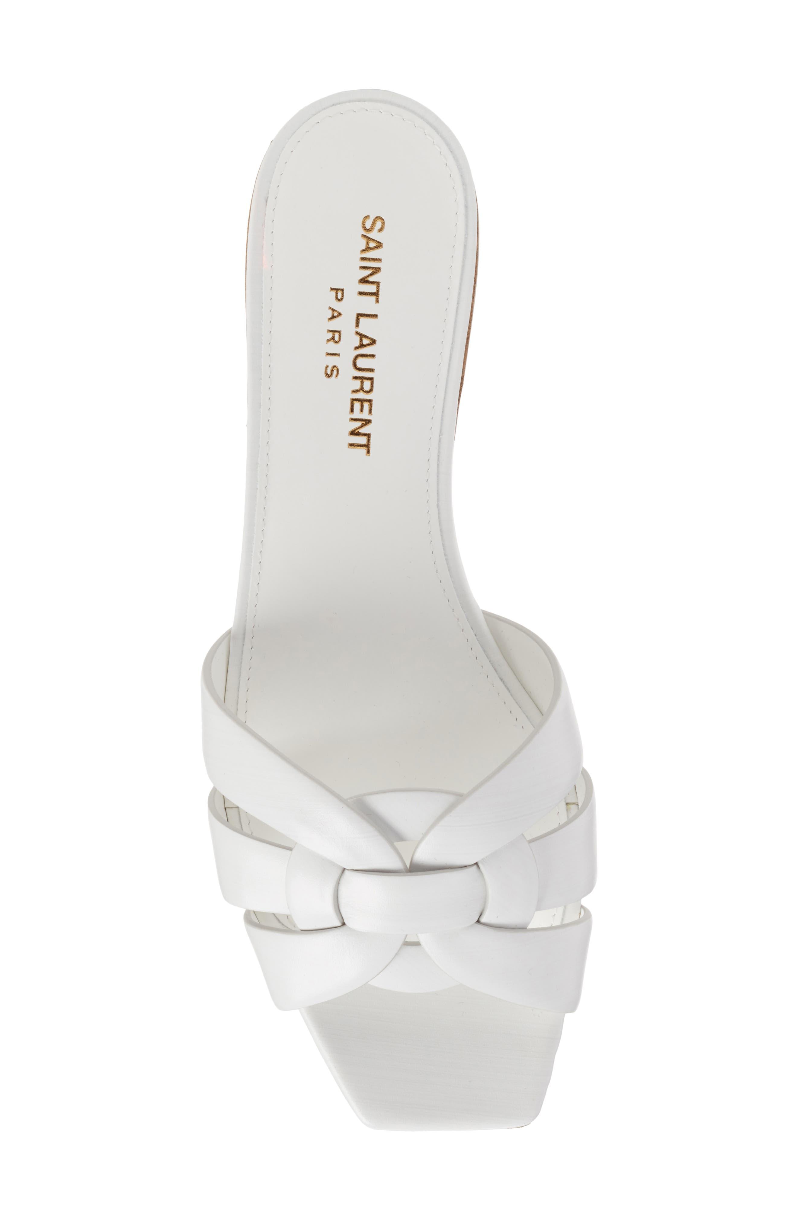 Alternate Image 4  - Saint Laurent Tribute Slide Sandal (Women)