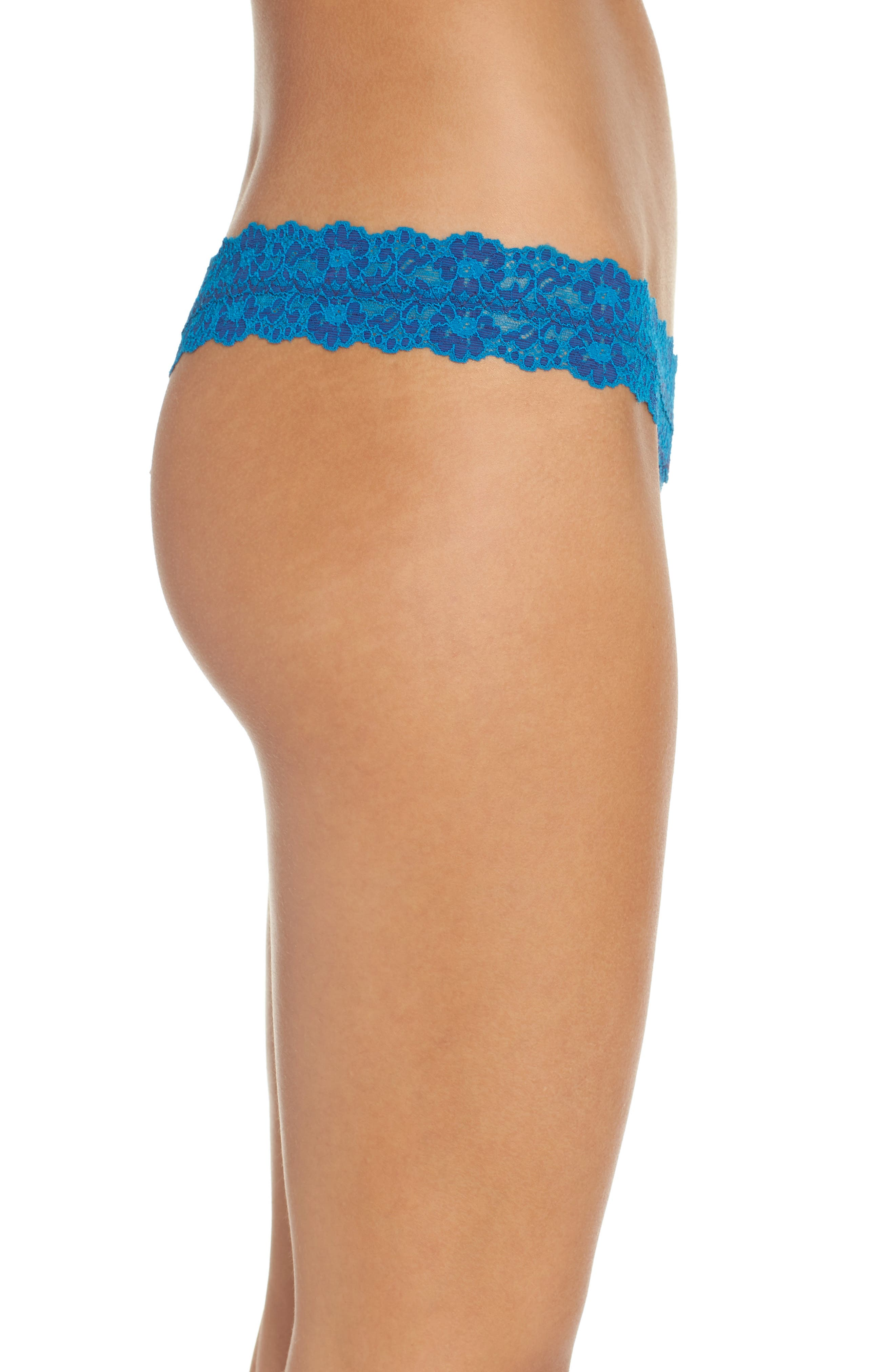 Alternate Image 3  - Hanky Panky Cross Dyed Low Rise Thong