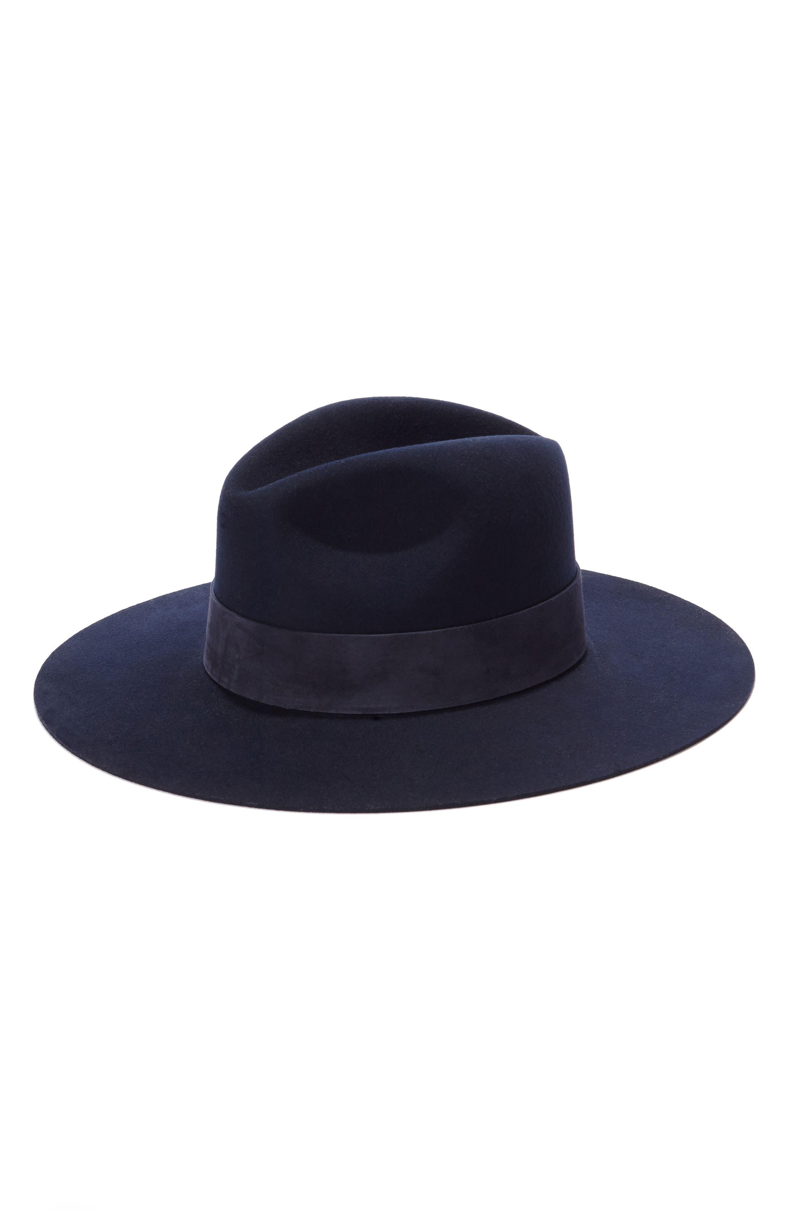 Janessa Leone Mira Wool Hat