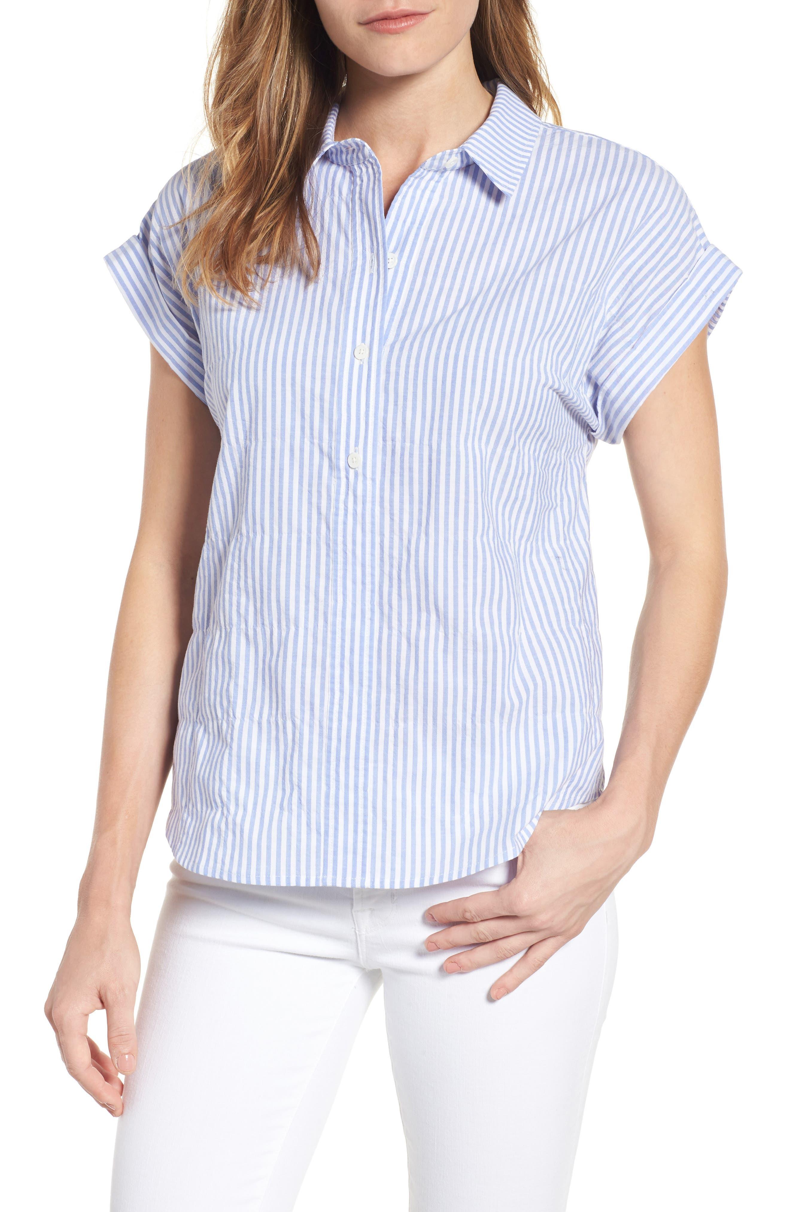 Vineyard Vines Stripe Dolman Sleeve Shirt