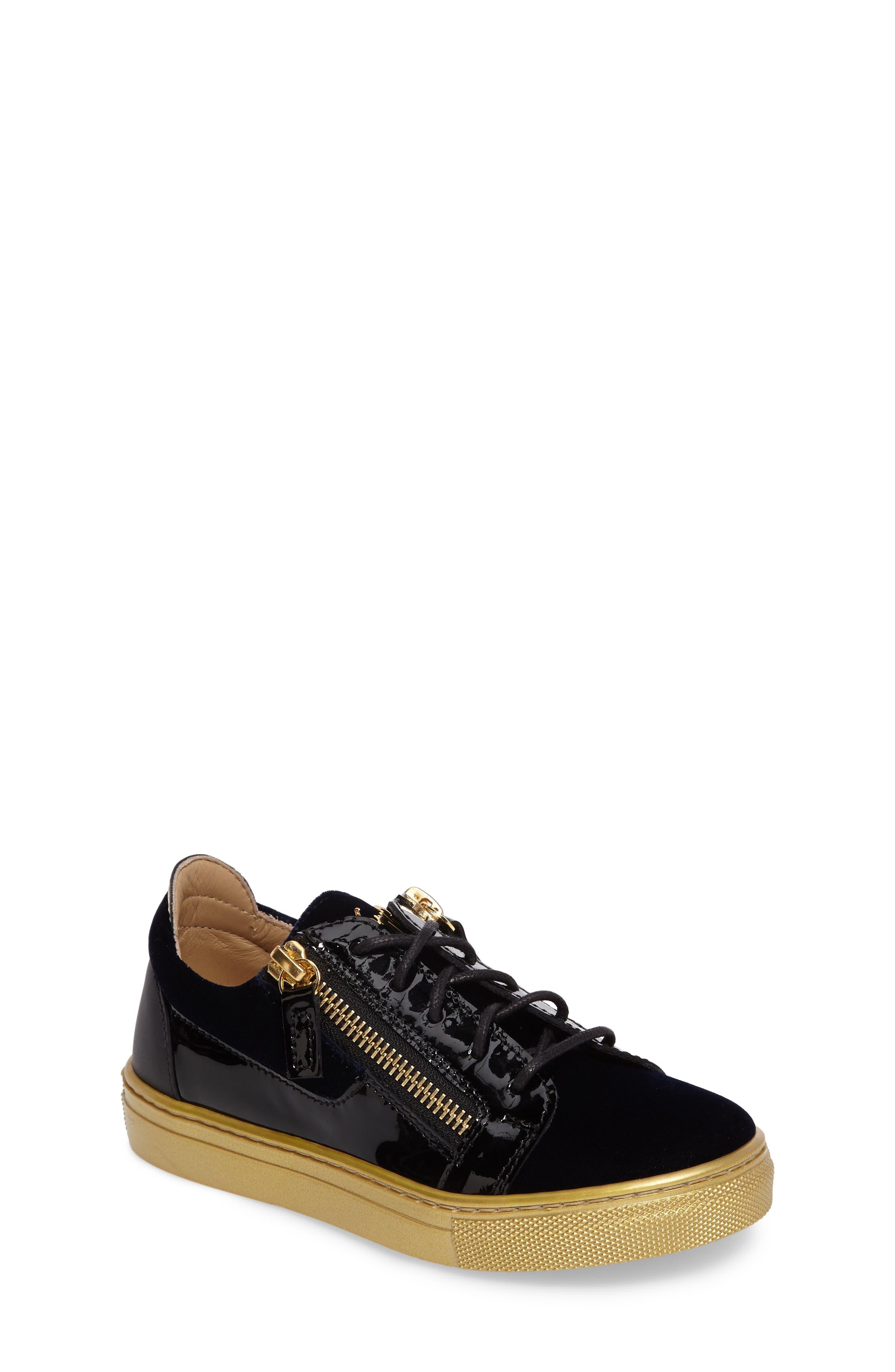 Giuseppe Zanotti London Sneaker (Toddler & Little Kid)