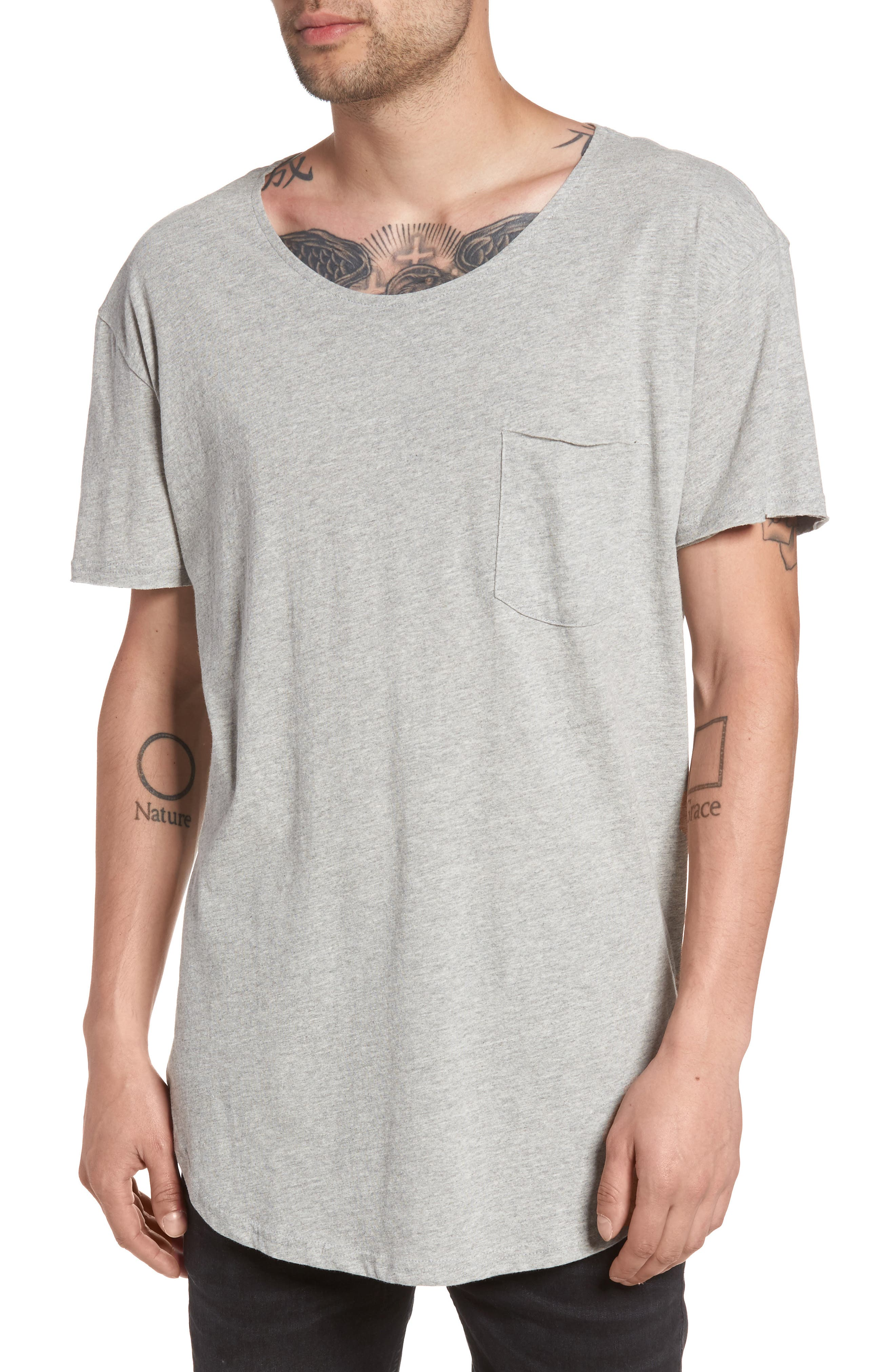 The Rail Longline Scoop Neck T-Shirt