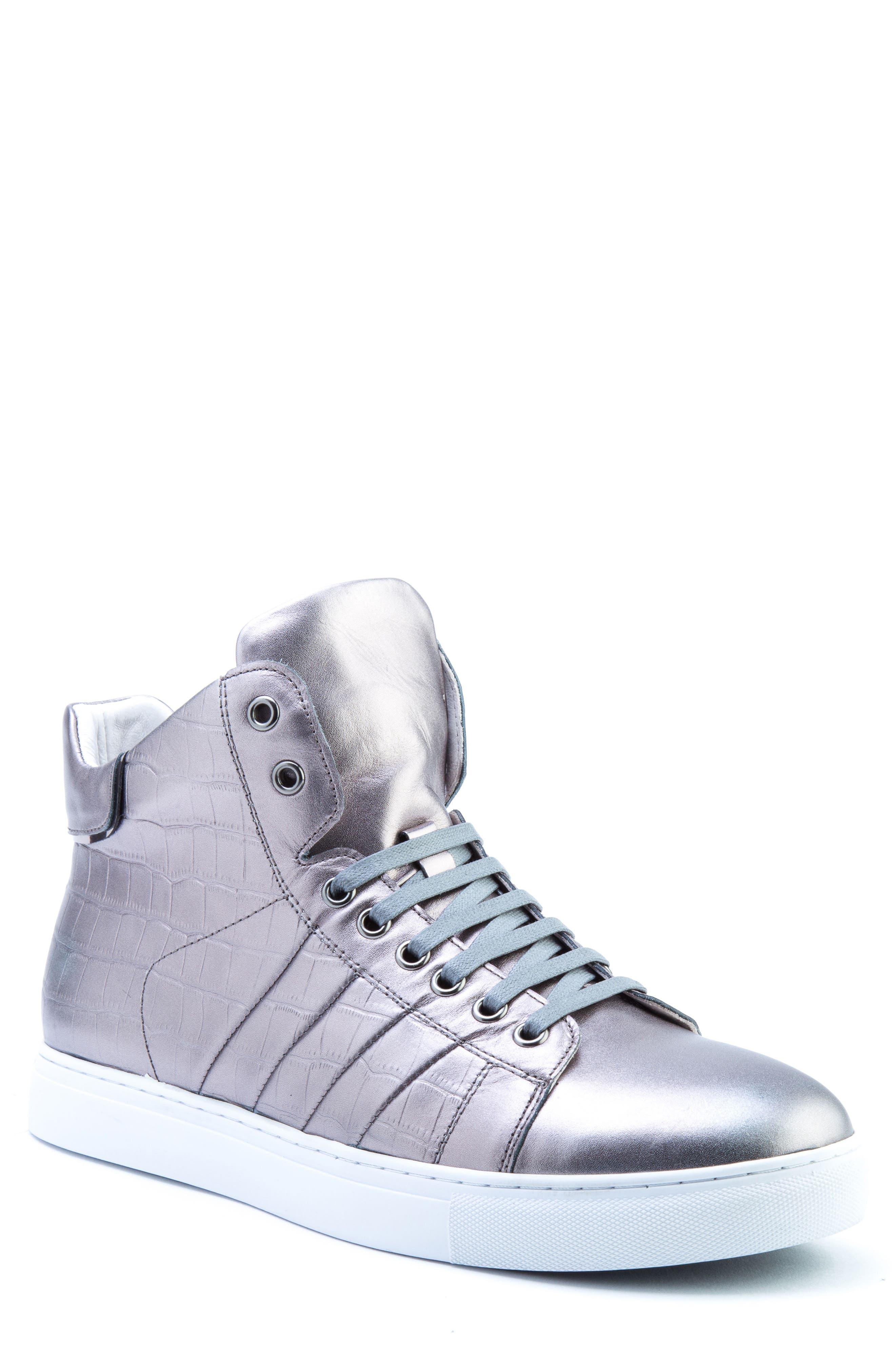 Badgley Mischka Clift High Top Sneaker (Men)