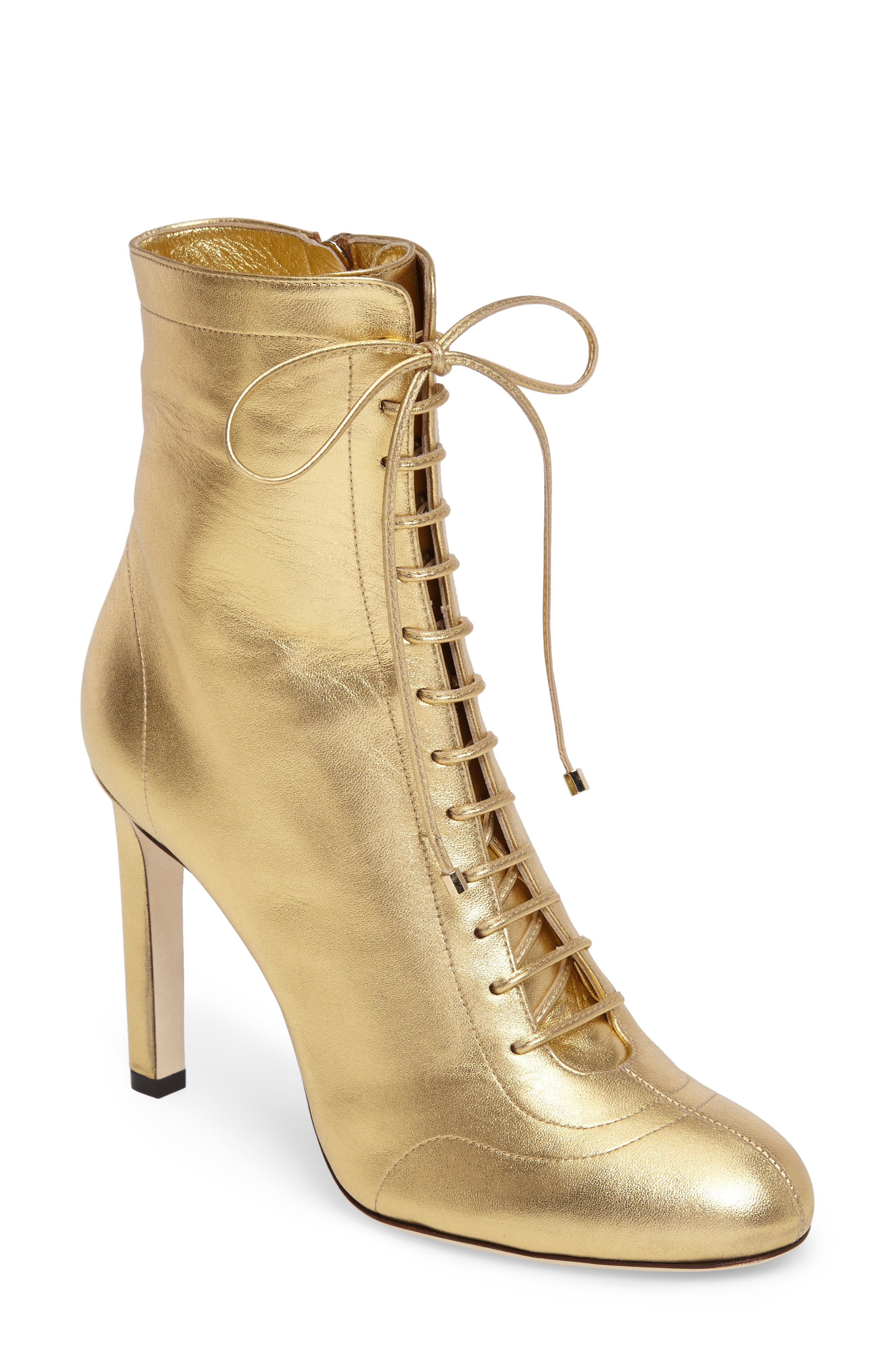 Jimmy Choo Daize Lace Up Bootie (Women)