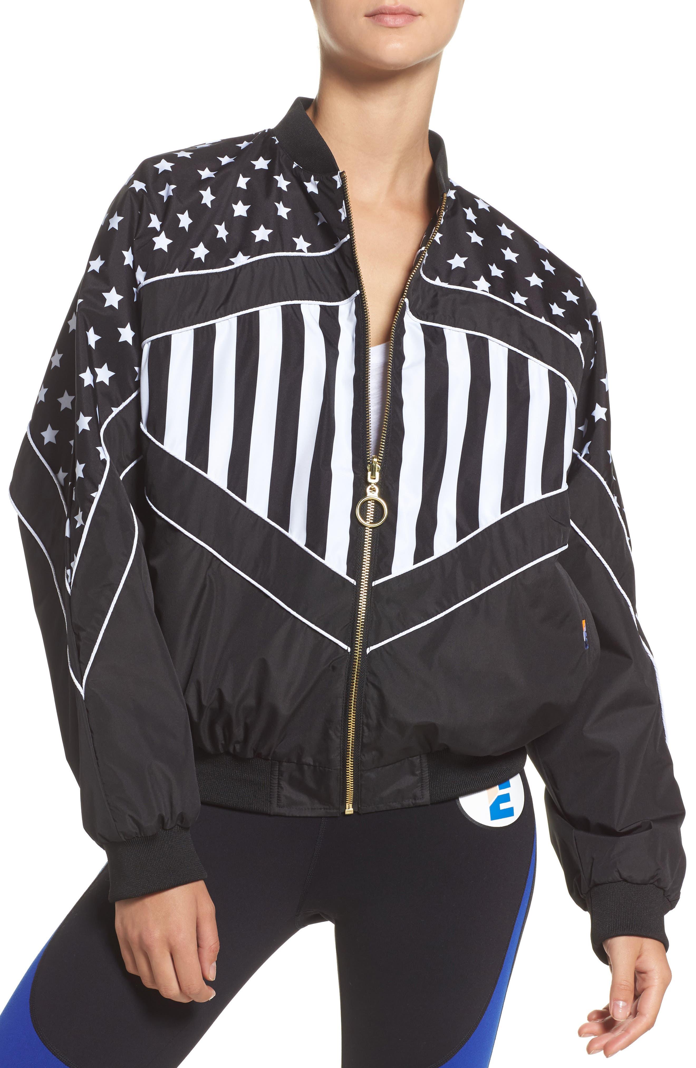 P.E Nation Wild Pitch Reversible Jacket