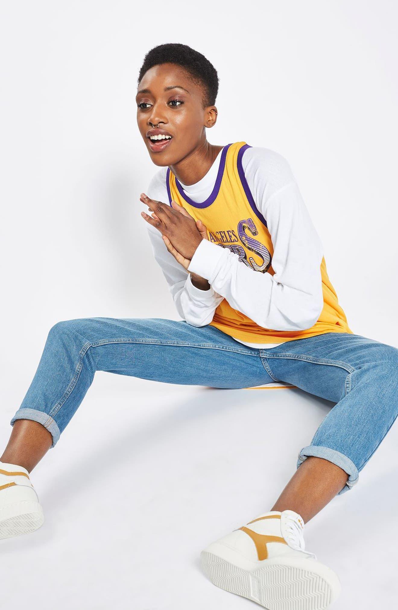 Alternate Image 2  - Topshop x UNK Los Angeles Lakers Vest