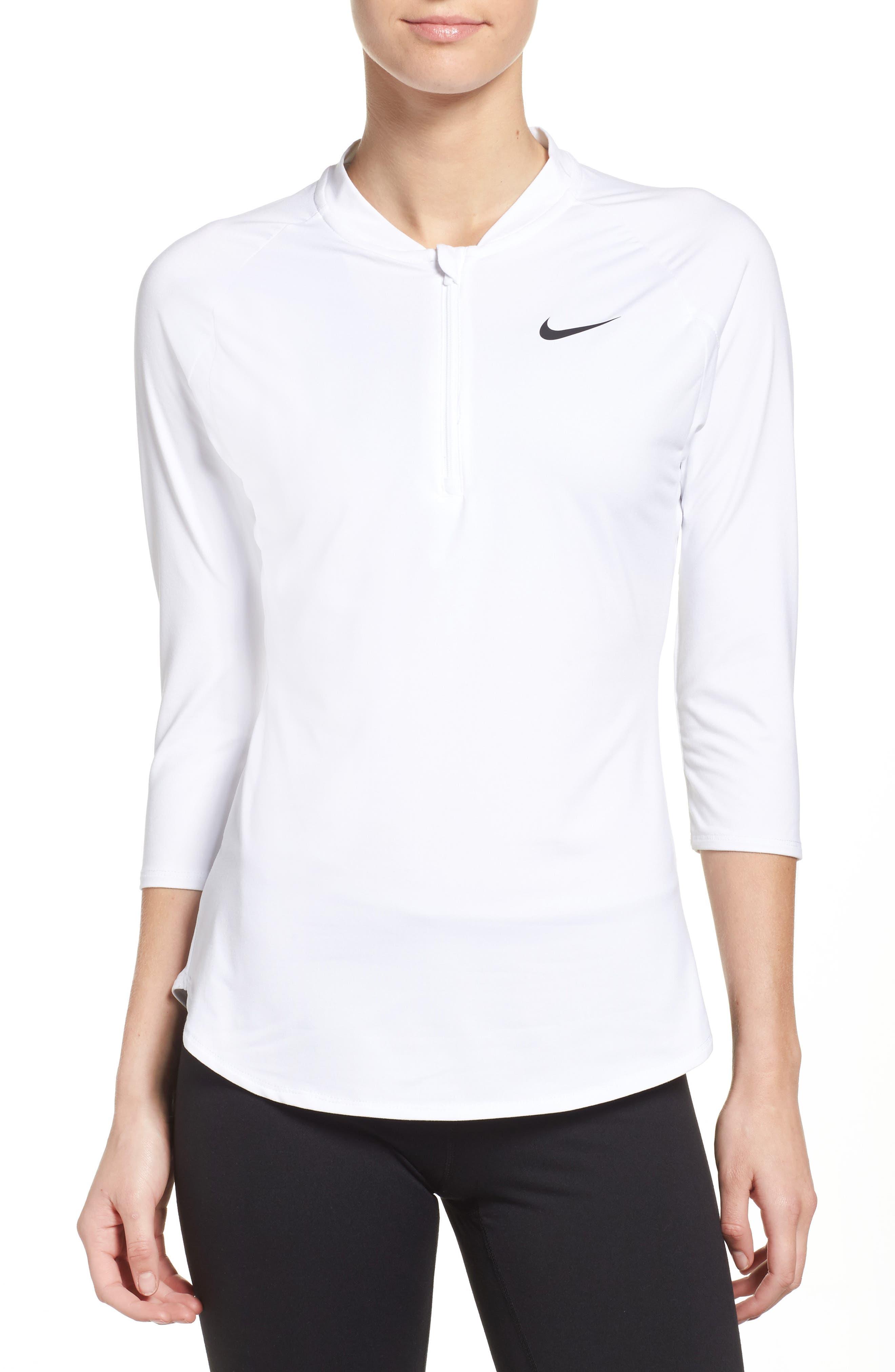 Nike Court Pure Half Zip Pullover