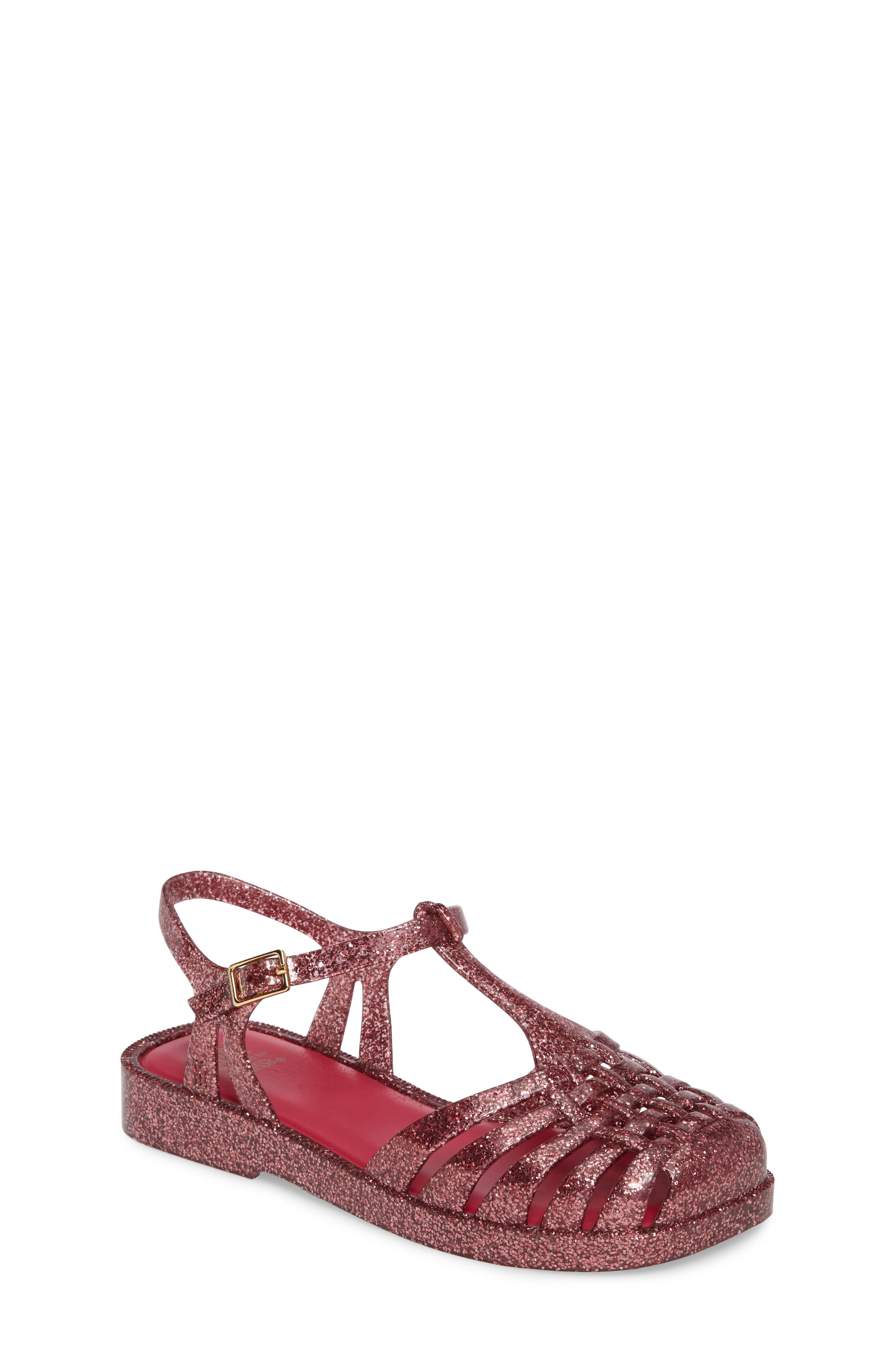 Mel by Melissa Aranha Quadrada Sandal (Toddler & Little Kid)