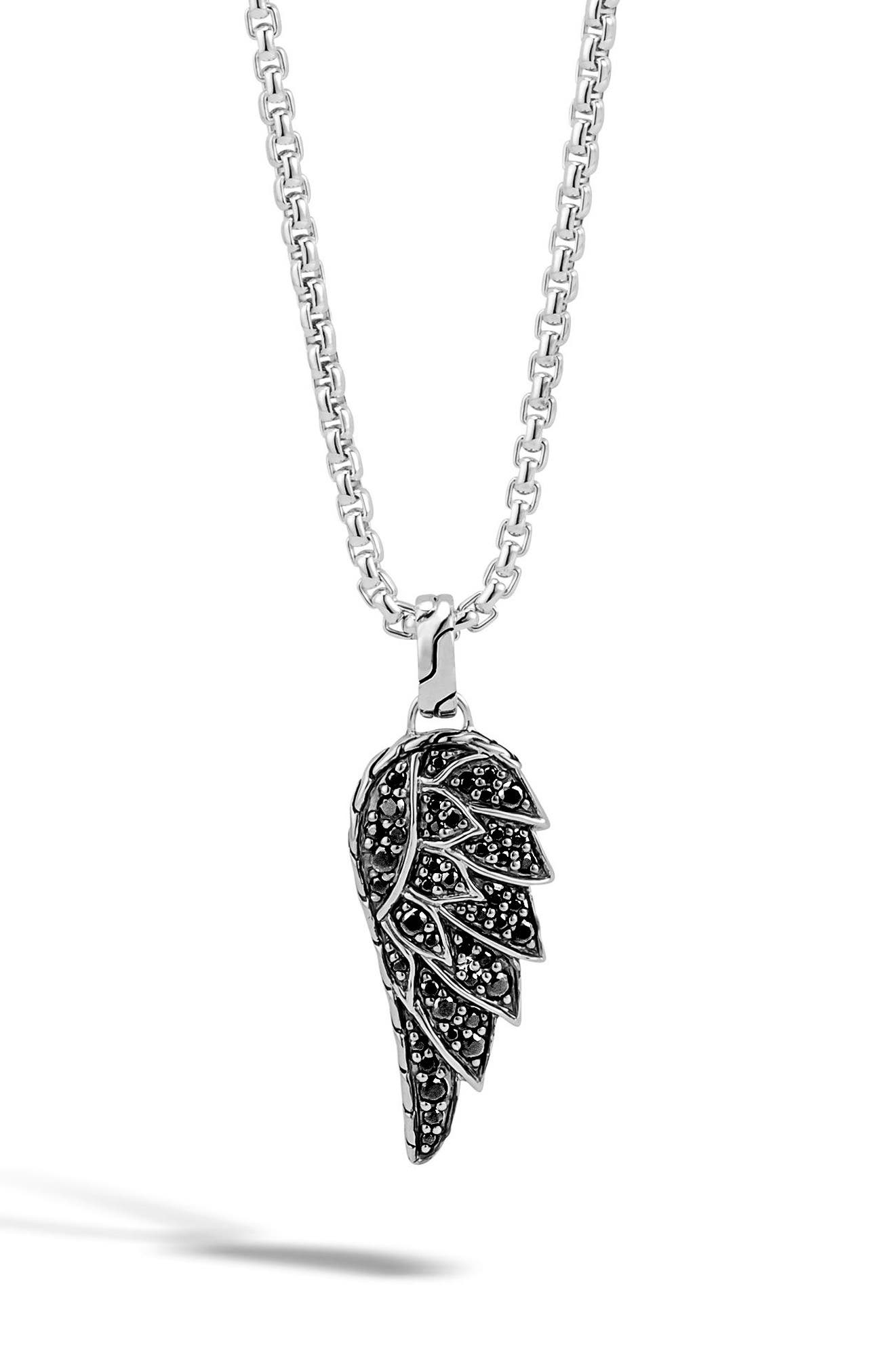 John Hardy Legends Eagle Wing Pendant Necklace