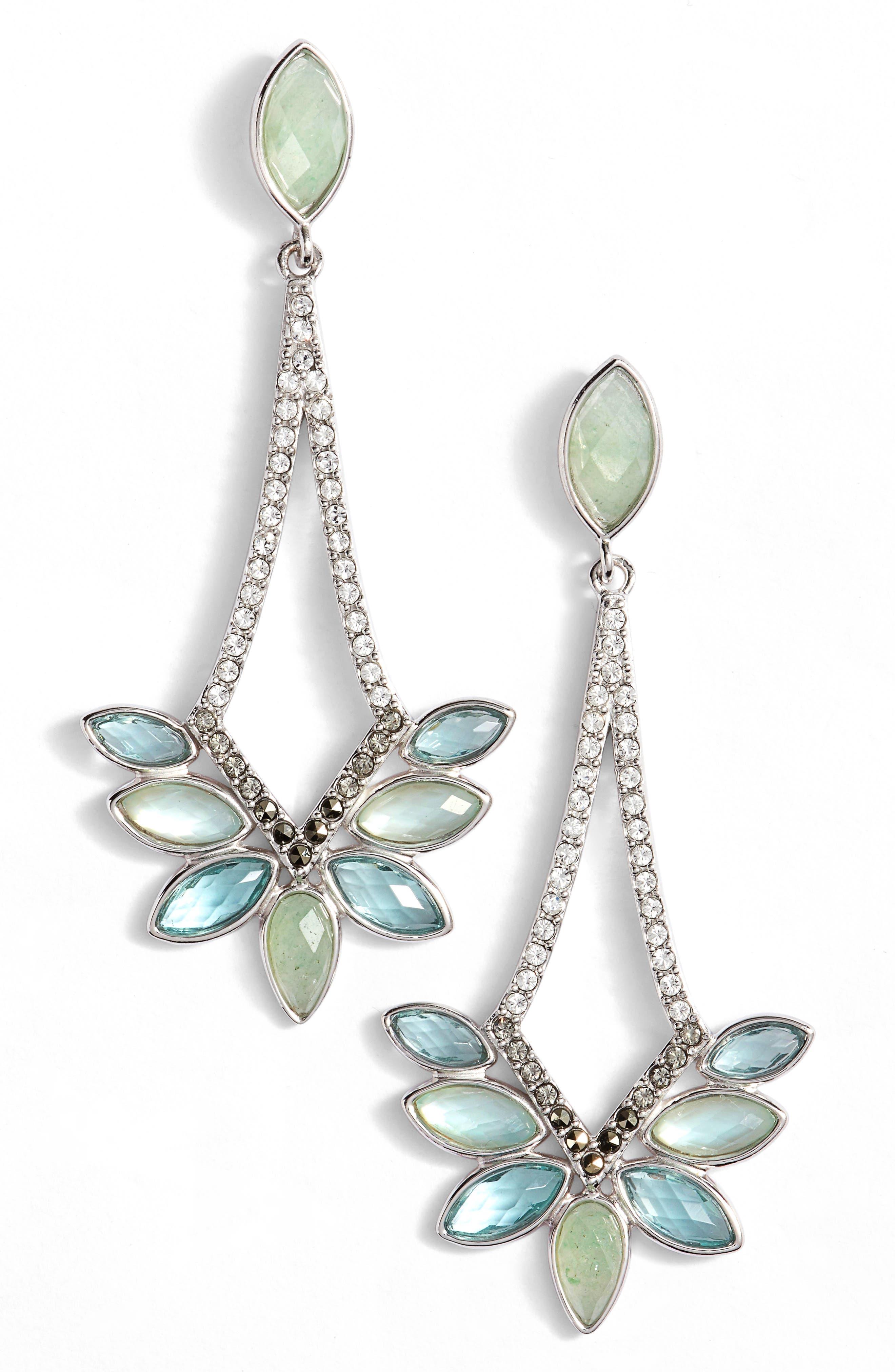 Judith Jack Lakeside Drop Earrings