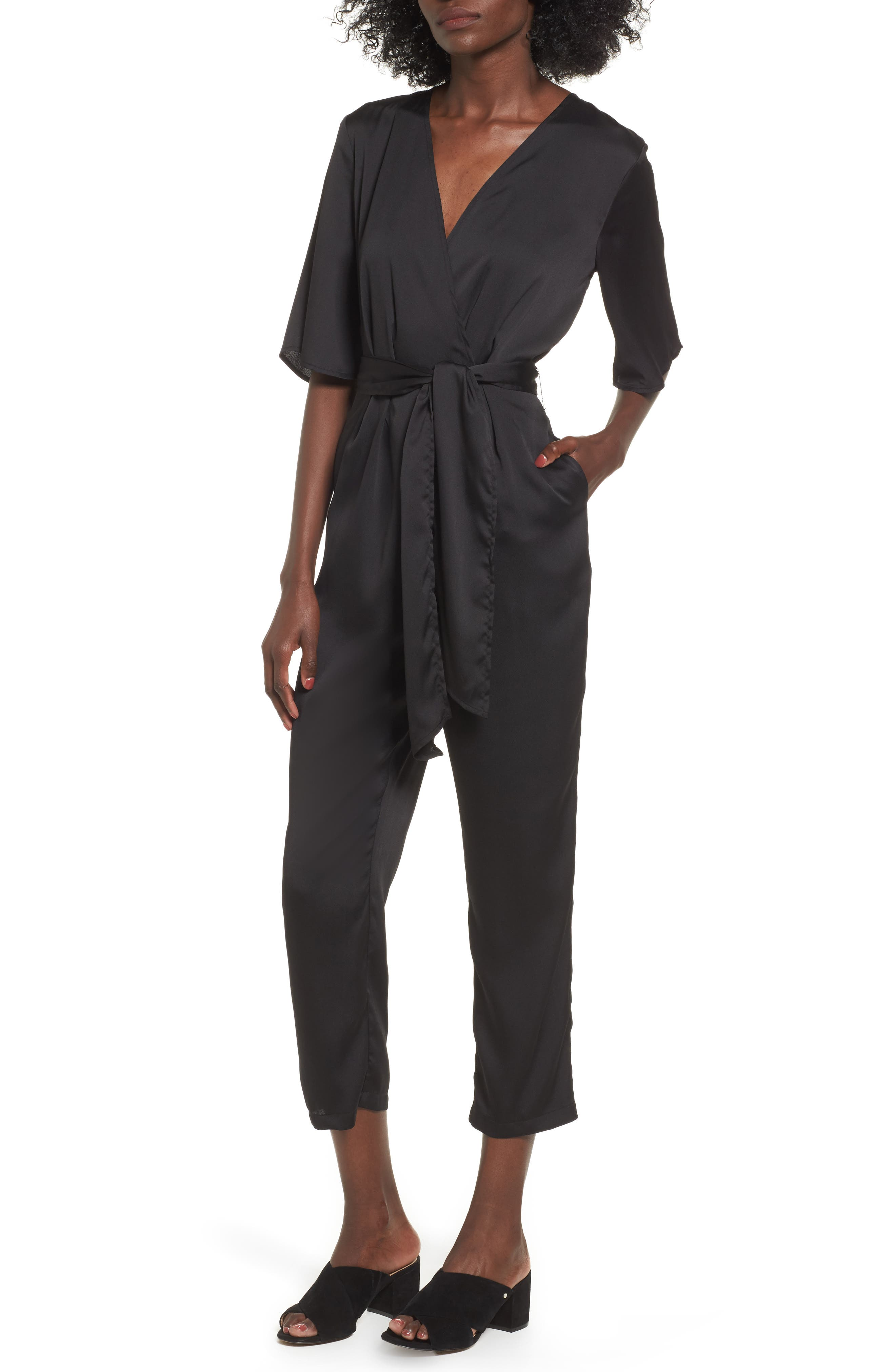 The Fifth Label Changing Course Satin Jumpsuit