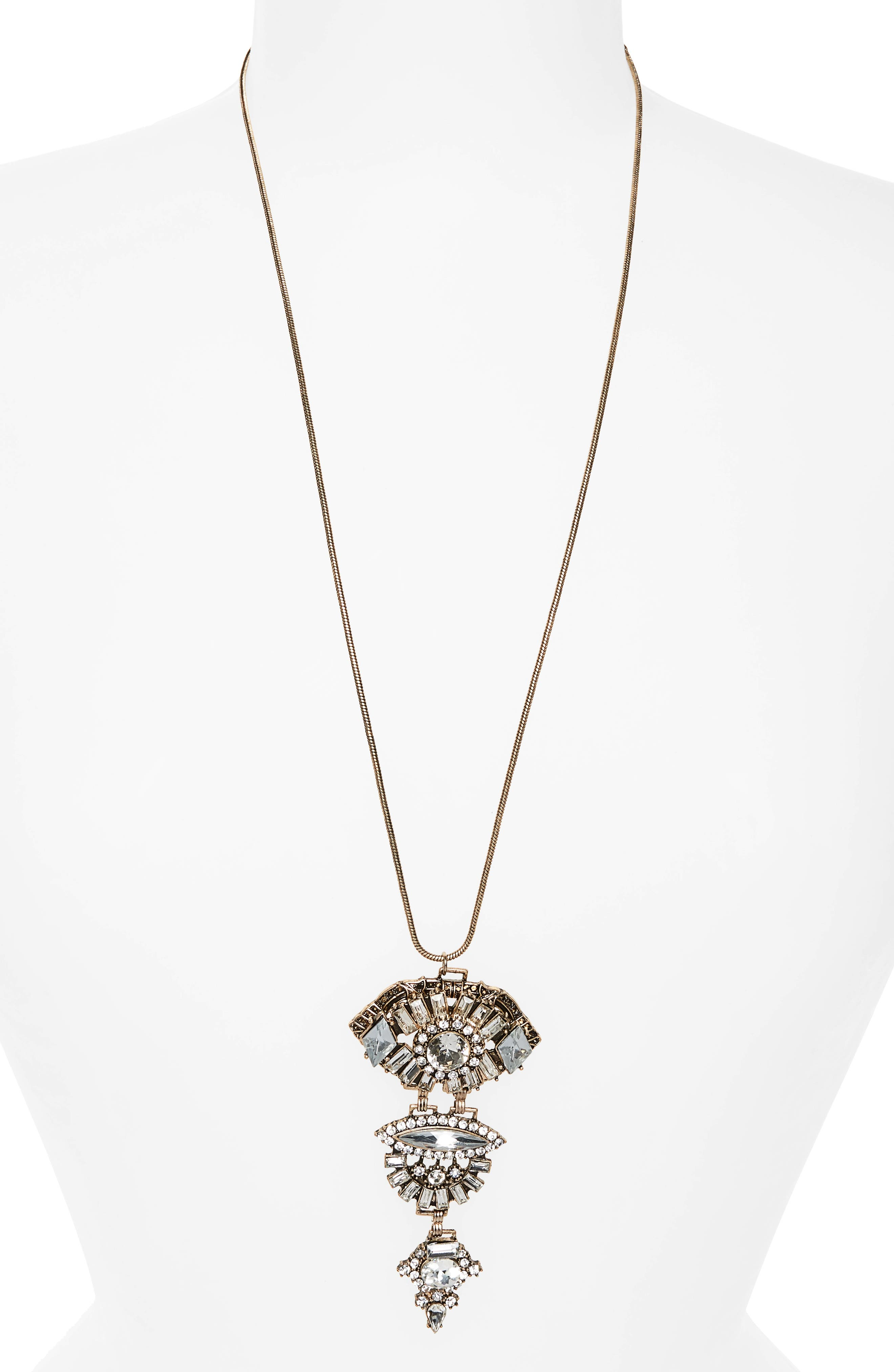 Loren Olivia Pendant Necklace
