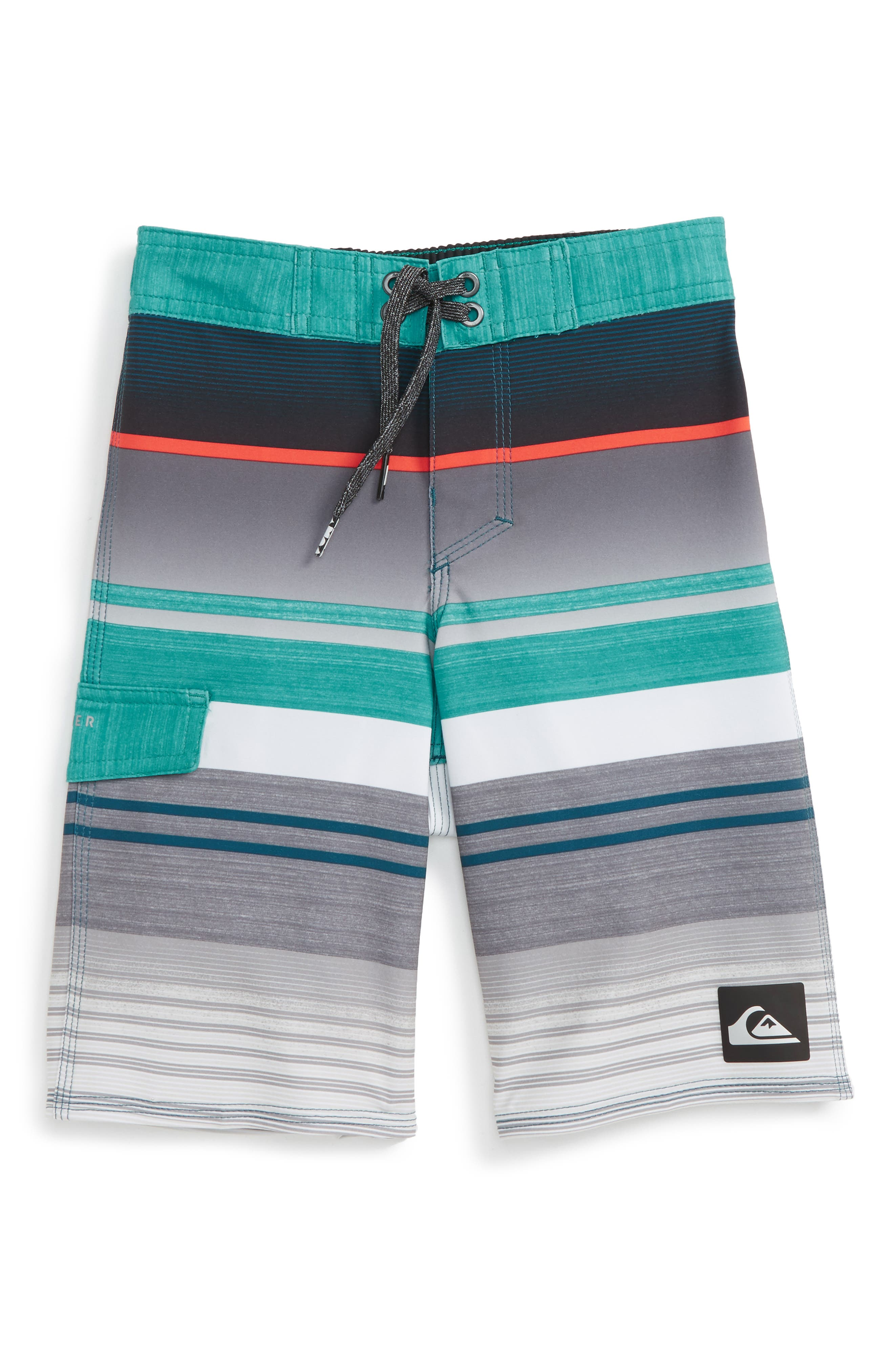 Quiksilver Everyday Stripe Board Shorts (Toddler Boys & Little Boys)