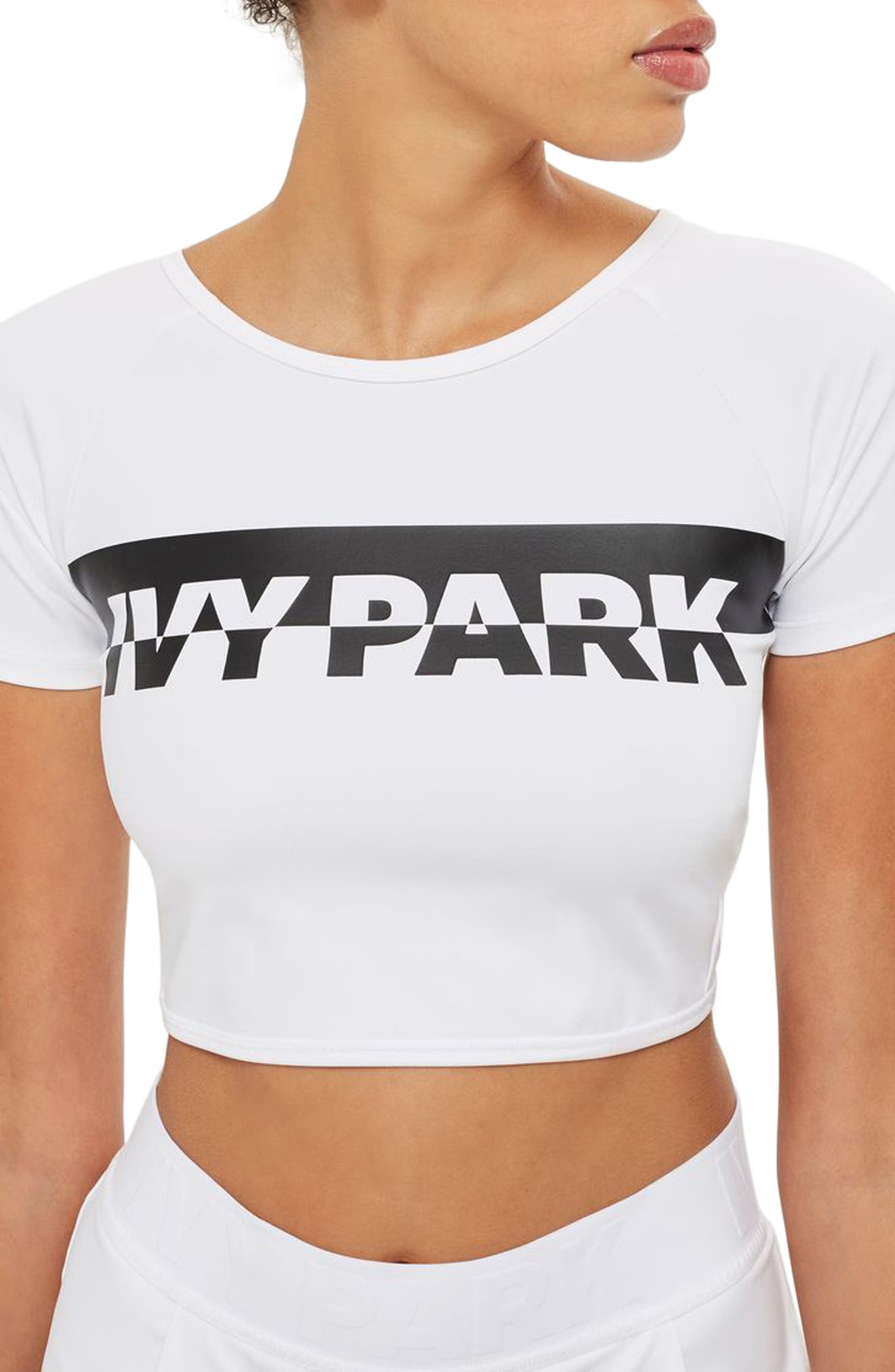 IVY PARK® Broken Logo Crop Top