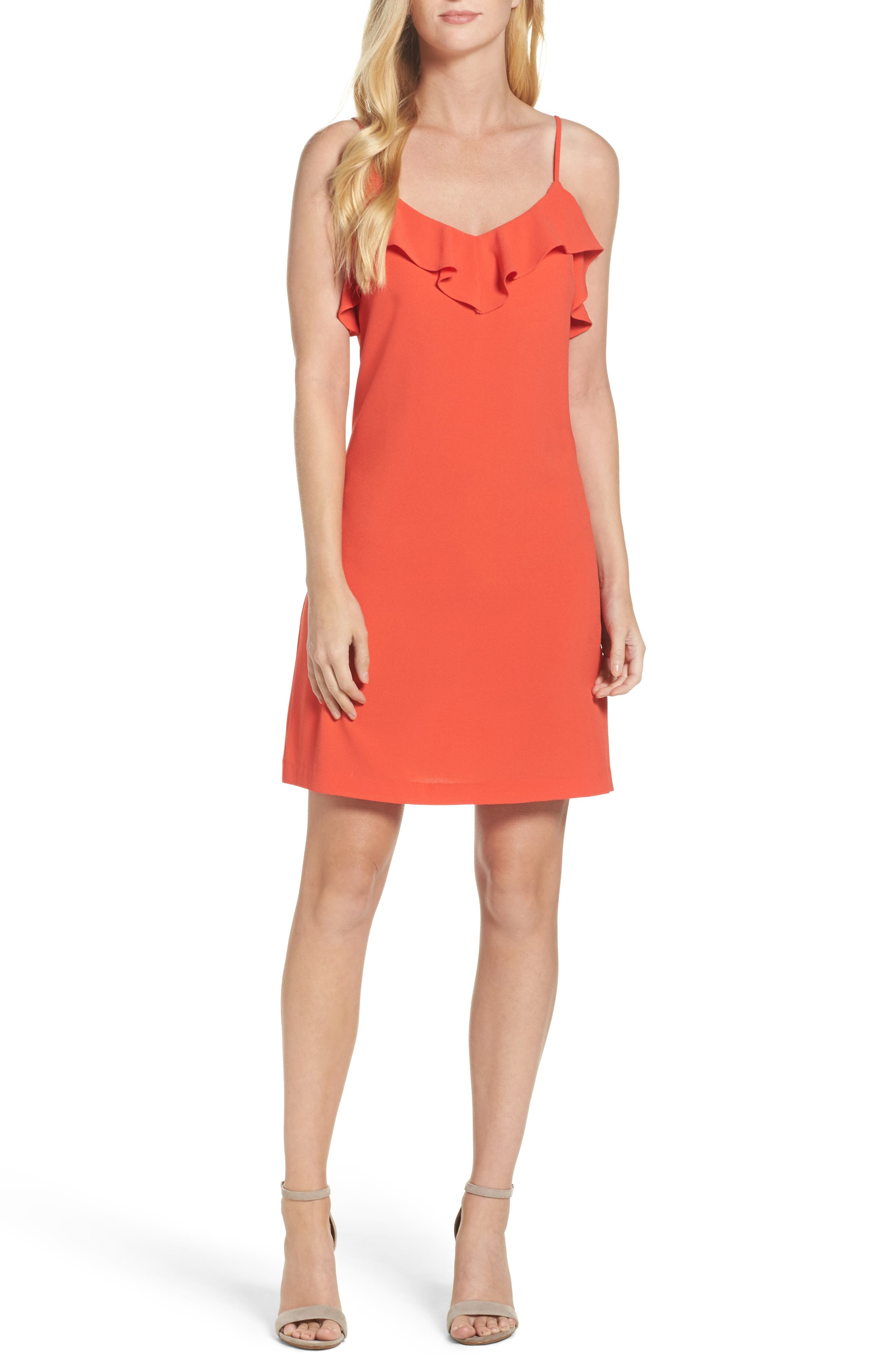 Felicity & Coco Isabella Ruffle Slipdress (Nordstrom Exclusive)