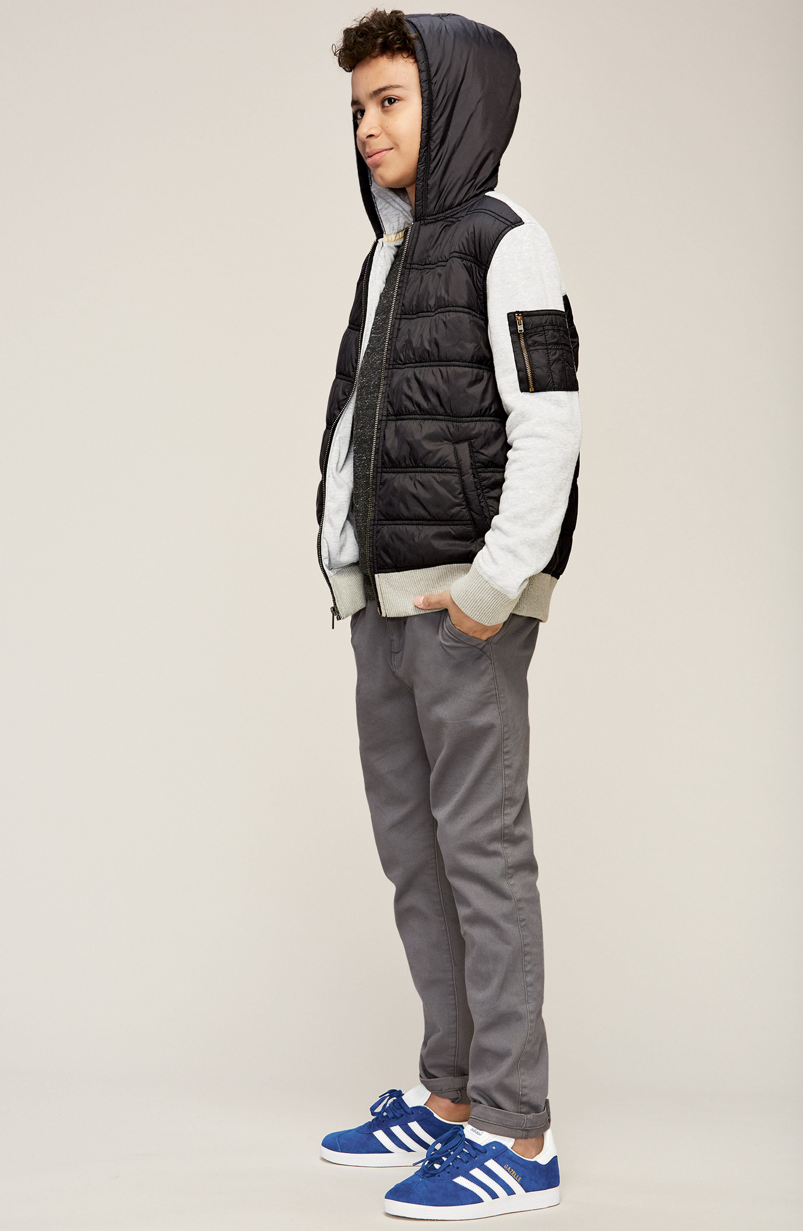 Tucker + Tate Jacket, T-Shirt & Pants Outfit with Accessories (Big Boys)