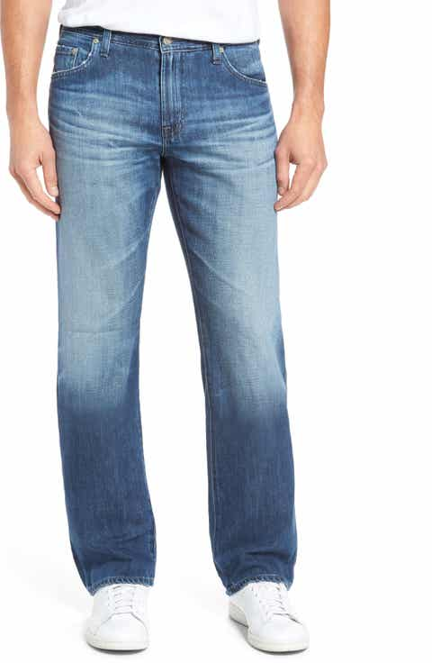 AG Protégé Relaxed Fit Jeans (15 Years Forgery)