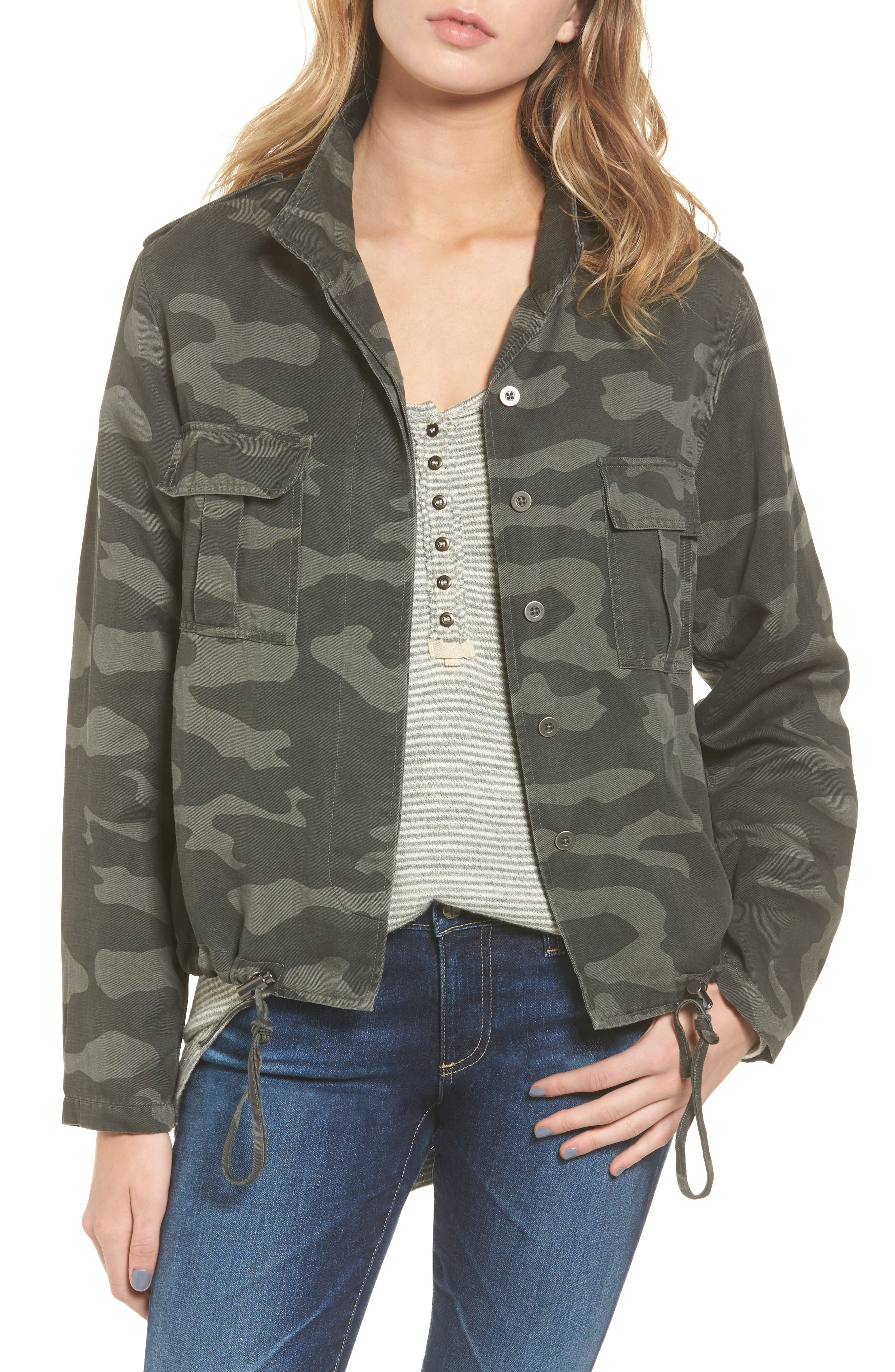 Rails Harrison Military Jacket