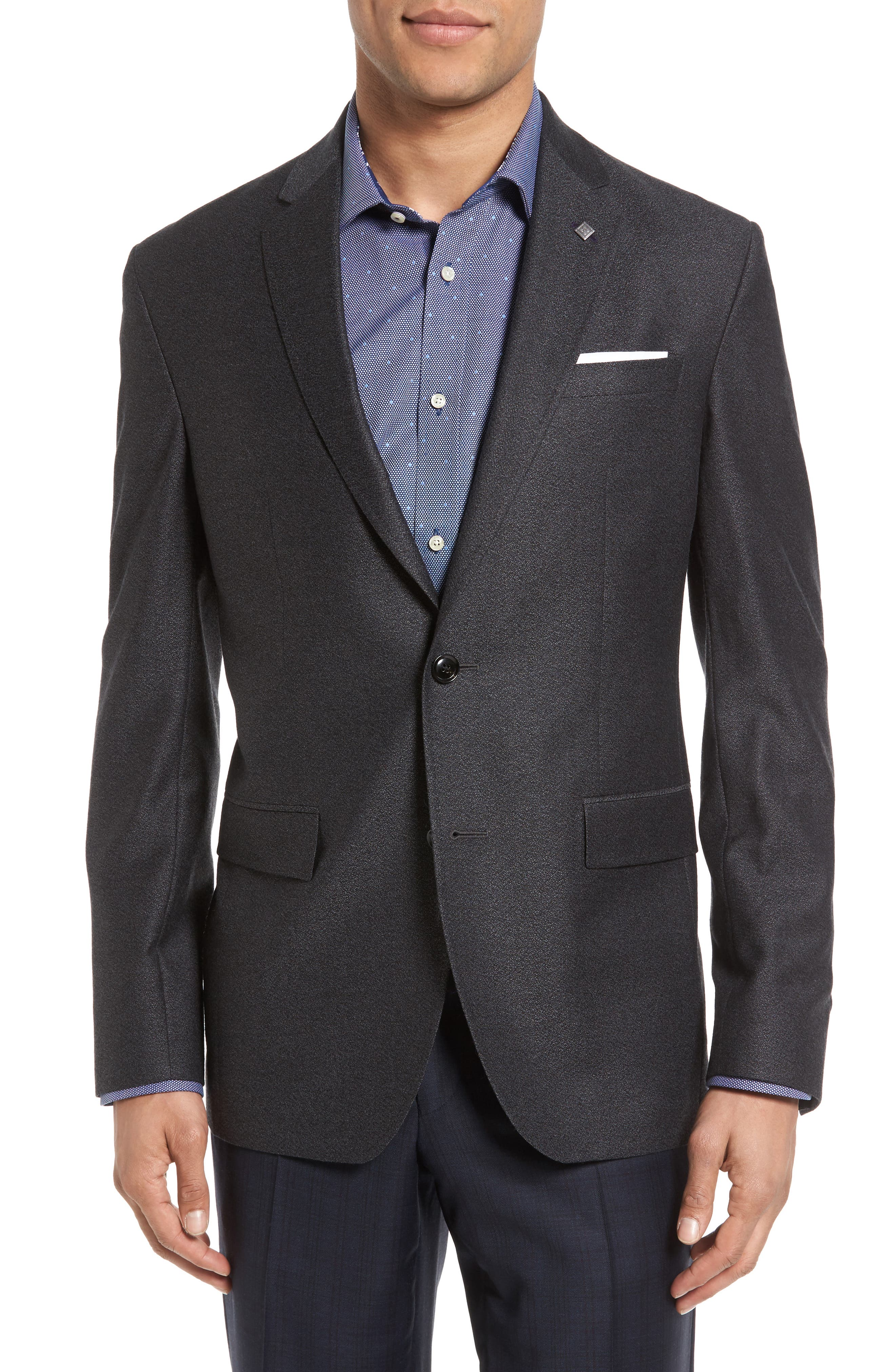 Ted Baker London Konan Trim Fit Wool Blazer