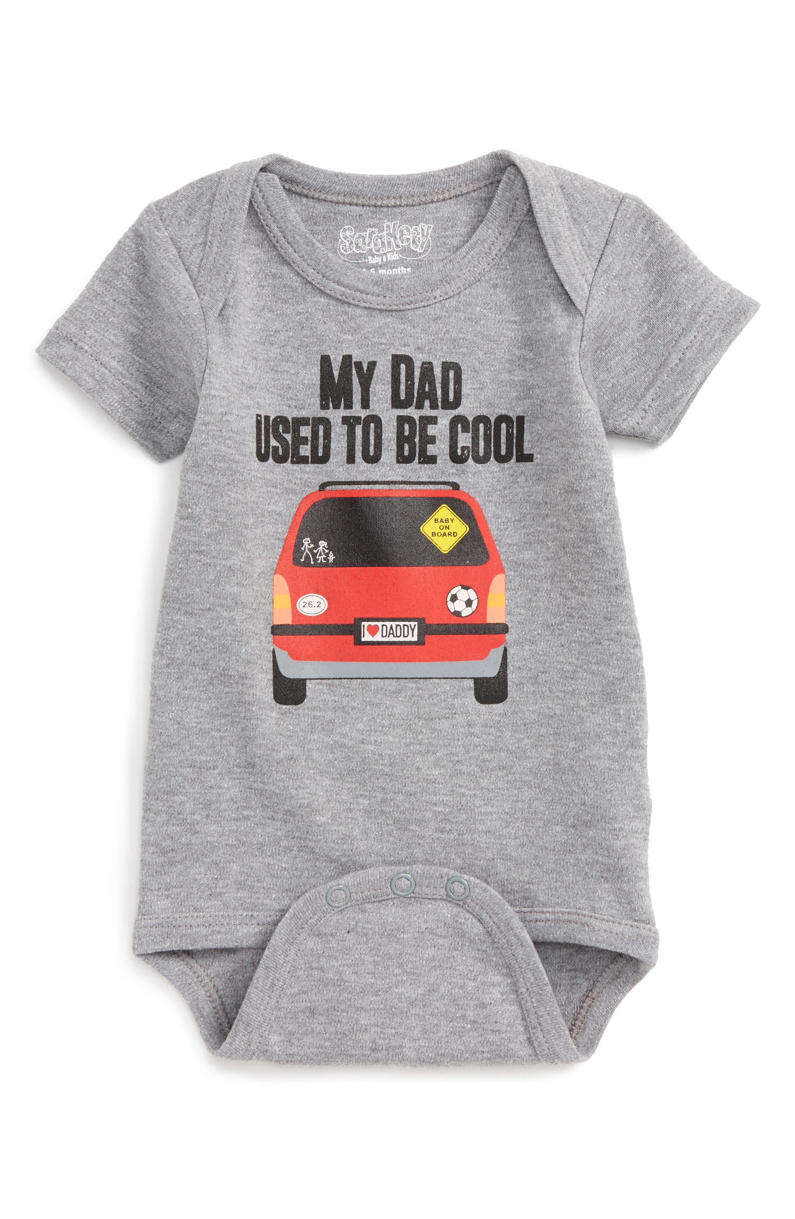 Sara Kety Baby & Kids Van Dad Bodysuit (Baby Boys)