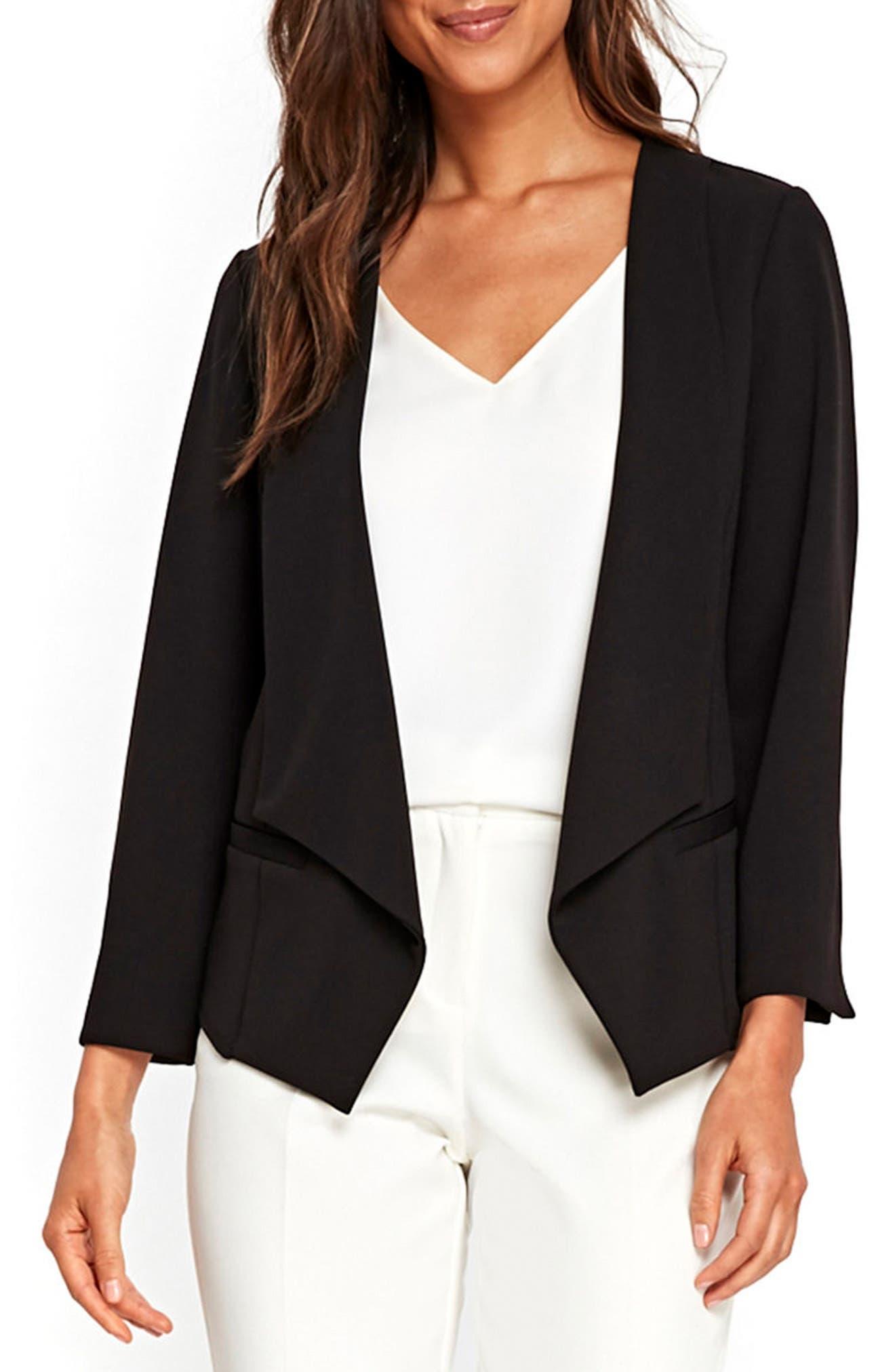 Wallis Jersey Scuba Crepe Jacket